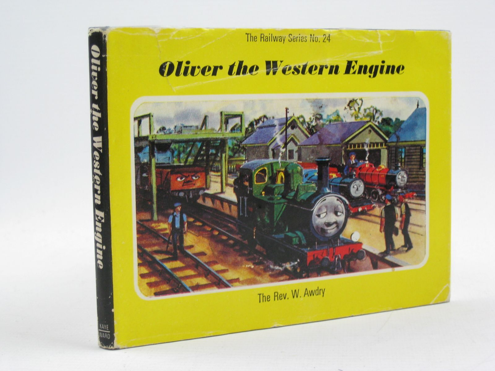 Photo of OLIVER THE WESTERN ENGINE written by Awdry, Rev. W. illustrated by Edwards, Gunvor<br />Edwards, Peter published by Kaye & Ward Ltd. (STOCK CODE: 1316741)  for sale by Stella & Rose's Books