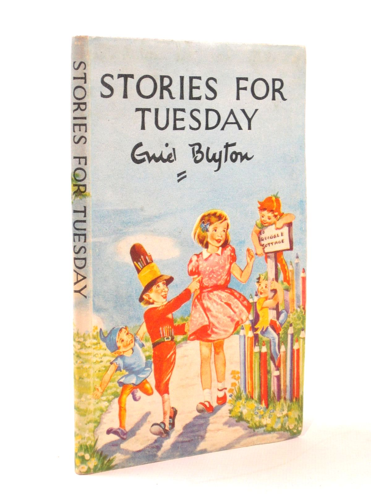 Photo of STORIES FOR TUESDAY written by Blyton, Enid published by Oliphants Ltd. (STOCK CODE: 1316764)  for sale by Stella & Rose's Books