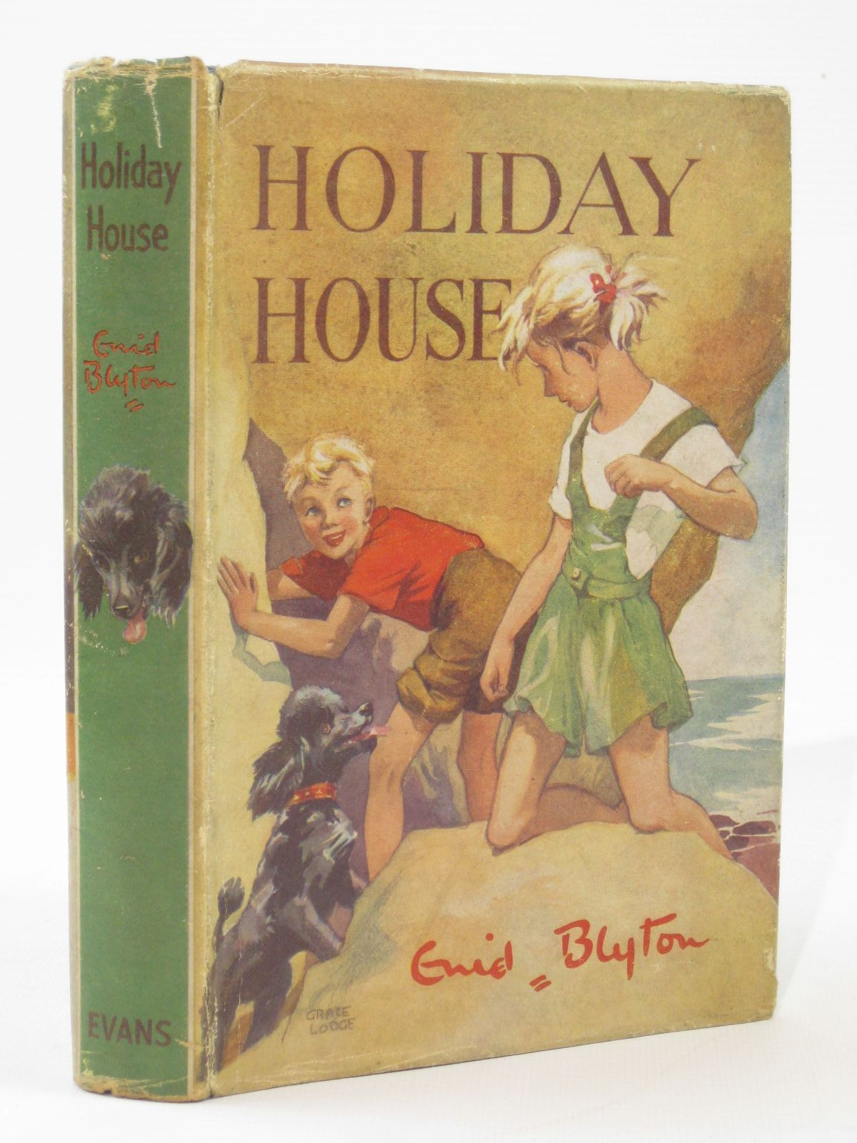Photo of HOLIDAY HOUSE written by Blyton, Enid illustrated by Lodge, Grace published by Evans Brothers Limited (STOCK CODE: 1316767)  for sale by Stella & Rose's Books