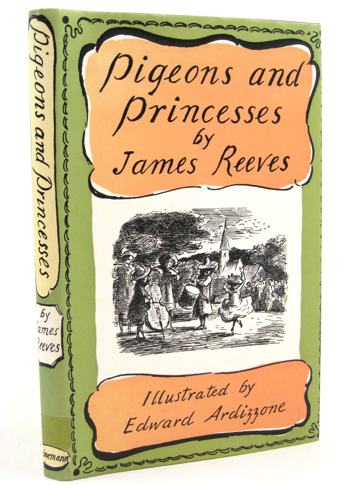 Photo of PIGEONS AND PRINCESSES written by Reeves, James illustrated by Ardizzone, Edward published by William Heinemann Ltd. (STOCK CODE: 1316781)  for sale by Stella & Rose's Books