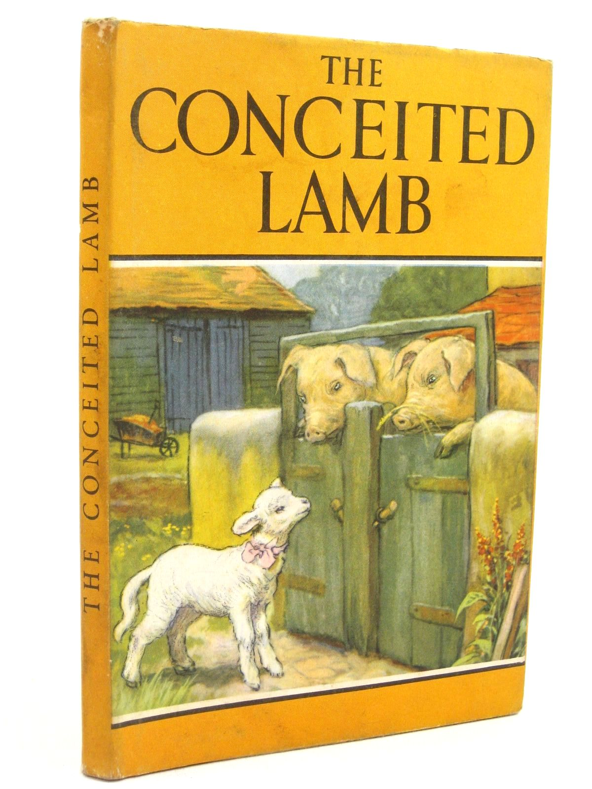 Photo of THE CONCEITED LAMB written by Barr, Noel illustrated by Hickling, P.B. published by Wills & Hepworth Ltd. (STOCK CODE: 1316800)  for sale by Stella & Rose's Books
