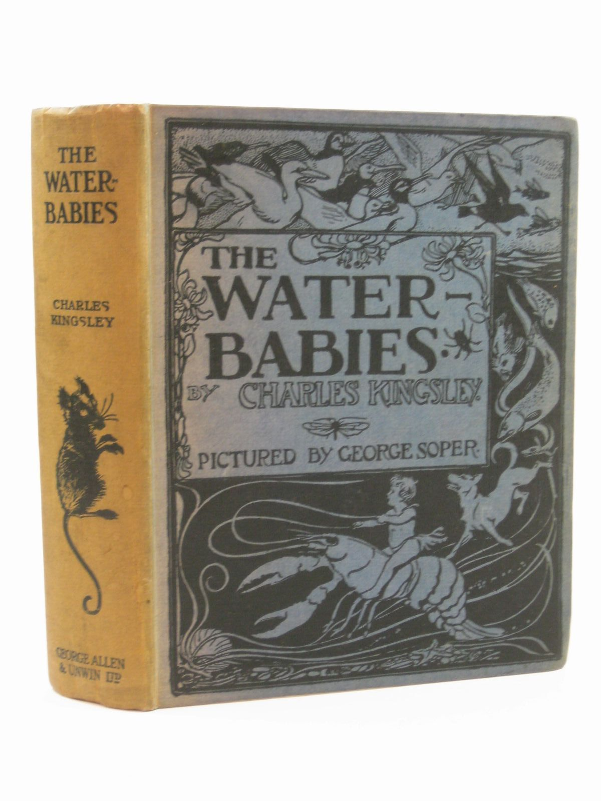Photo of THE WATER BABIES written by Kingsley, Charles illustrated by Soper, George published by George Allen & Unwin Ltd. (STOCK CODE: 1316805)  for sale by Stella & Rose's Books