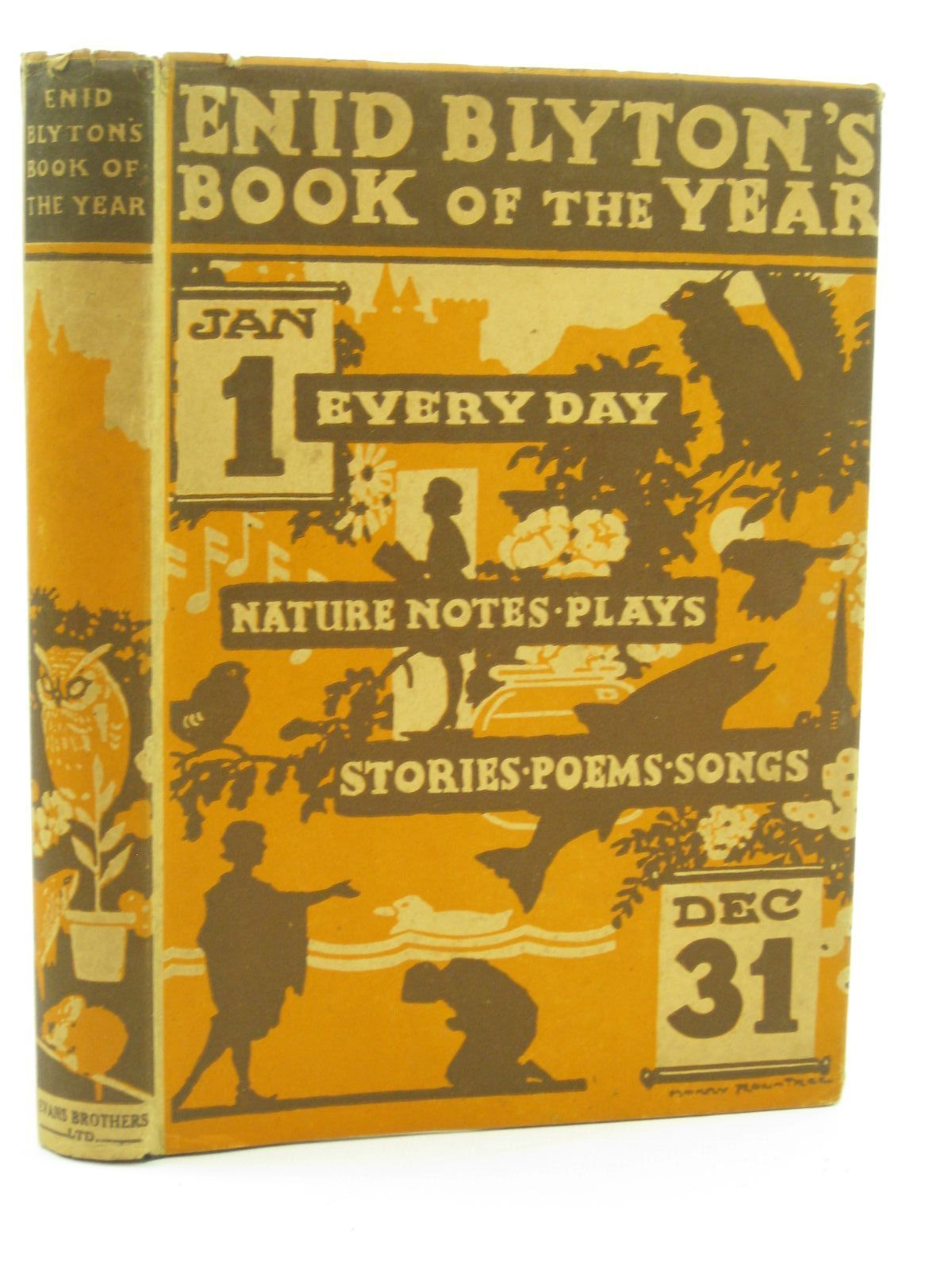Photo of ENID BLYTON'S BOOK OF THE YEAR written by Blyton, Enid illustrated by Rountree, Harry published by Evans Brothers Limited (STOCK CODE: 1316814)  for sale by Stella & Rose's Books