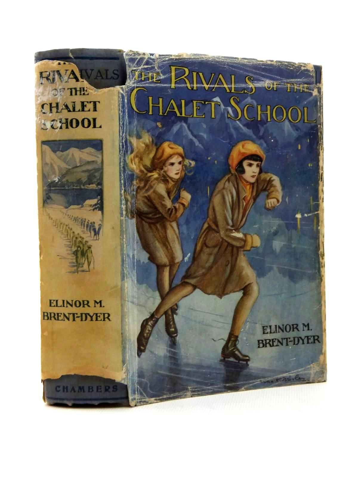 Photo of THE RIVALS OF THE CHALET SCHOOL written by Brent-Dyer, Elinor M. illustrated by Brisley, Nina K. published by W. & R. Chambers Limited (STOCK CODE: 1316845)  for sale by Stella & Rose's Books