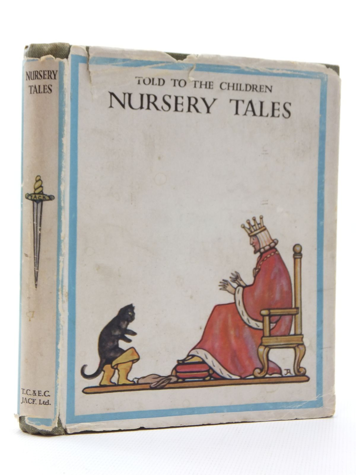 Photo of NURSERY TALES TOLD TO THE CHILDREN written by Steedman, Amy illustrated by Woodroffe, Paul published by T.C. & E.C. Jack Ltd. (STOCK CODE: 1316922)  for sale by Stella & Rose's Books