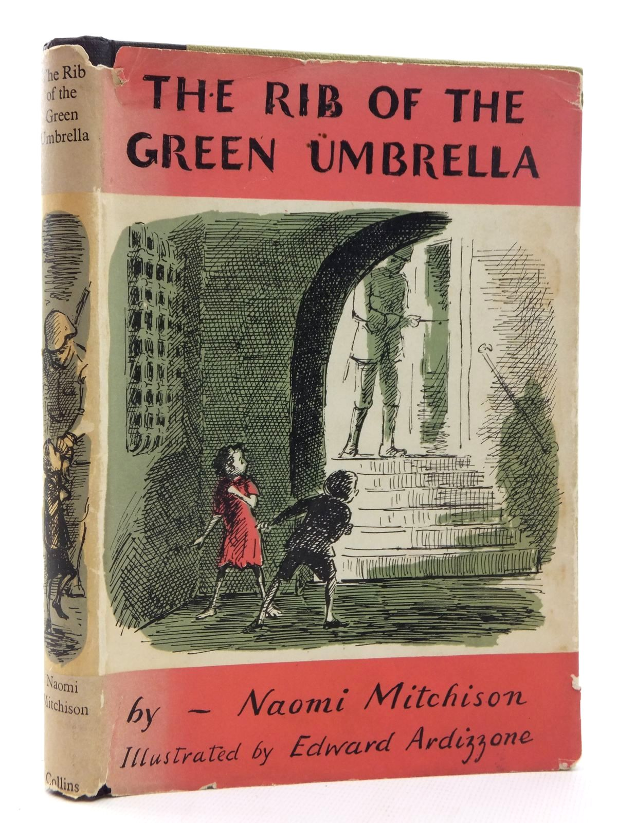 Photo of THE RIB OF THE GREEN UMBRELLA written by Mitchison, Naomi illustrated by Ardizzone, Edward published by Collins (STOCK CODE: 1316949)  for sale by Stella & Rose's Books