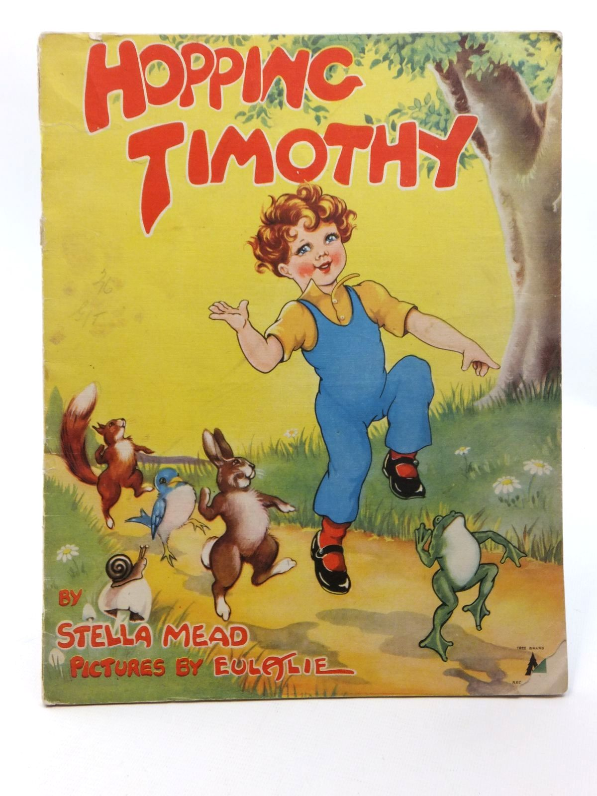 Photo of HOPPING TIMOTHY written by Mead, Stella illustrated by Eulalie,  published by Amex Company Ltd. (STOCK CODE: 1316972)  for sale by Stella & Rose's Books