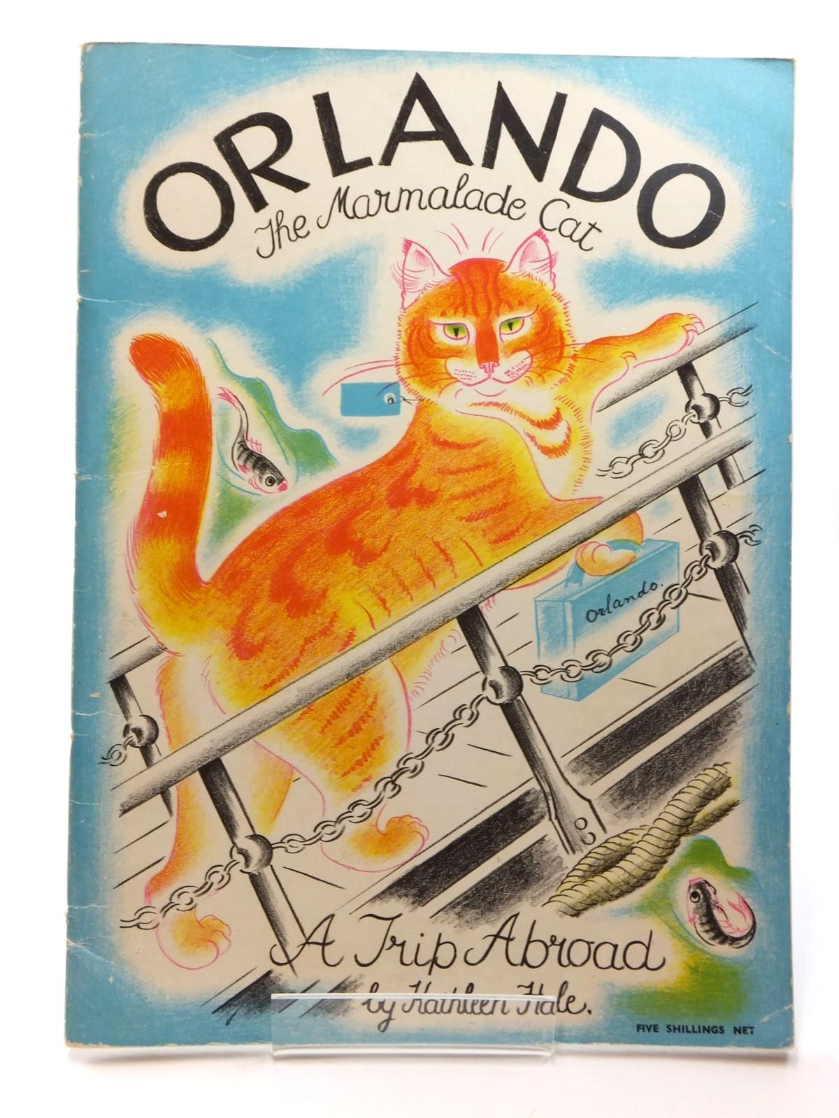 Photo of ORLANDO THE MARMALADE CAT A TRIP ABROAD written by Hale, Kathleen illustrated by Hale, Kathleen published by Country Life (STOCK CODE: 1317004)  for sale by Stella & Rose's Books