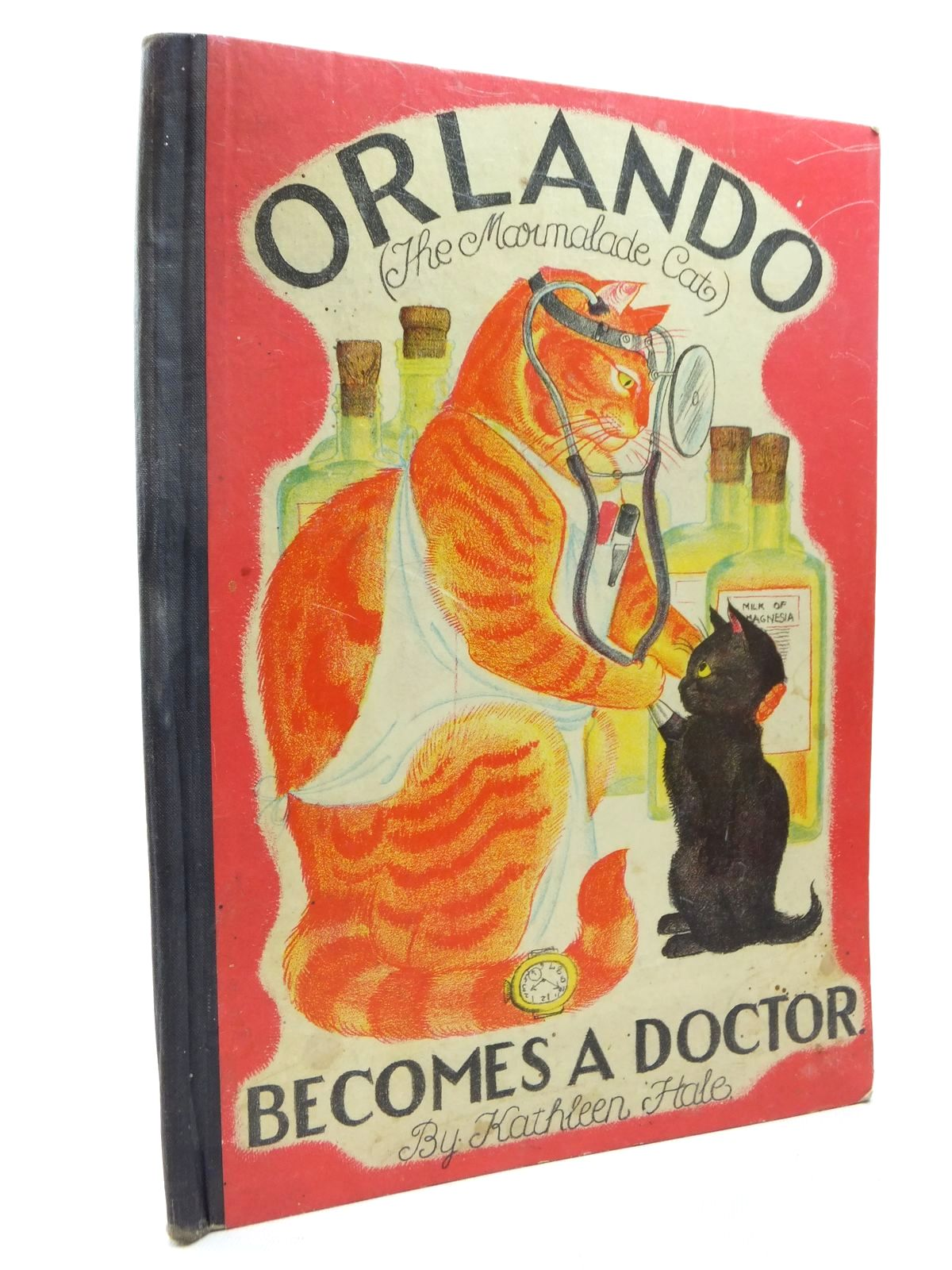 Photo of ORLANDO THE MARMALADE CAT: BECOMES A DOCTOR