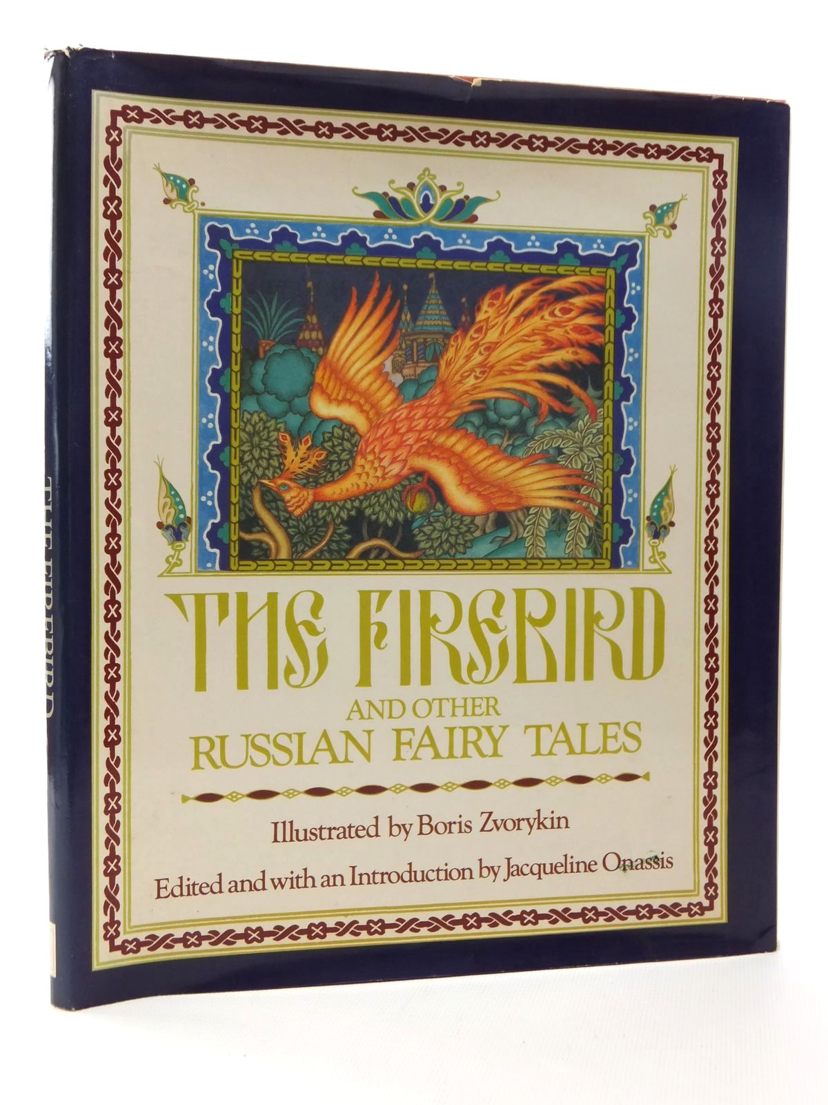 Photo of THE FIREBIRD AND OTHER RUSSIAN FAIRY TALES written by Onassis, Jacqueline illustrated by Zvorykin, Boris published by Allen Lane (STOCK CODE: 1317022)  for sale by Stella & Rose's Books