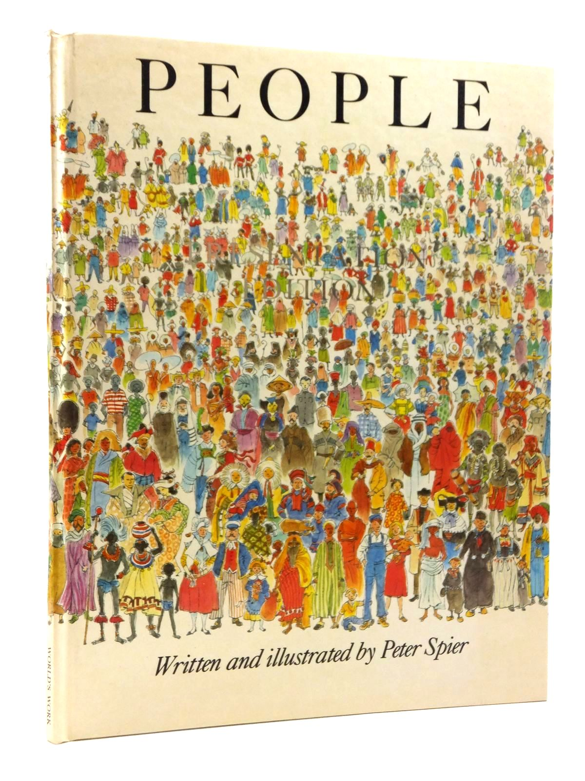 Photo of PEOPLE written by Spier, Peter illustrated by Spier, Peter published by World's Work Ltd. (STOCK CODE: 1317034)  for sale by Stella & Rose's Books