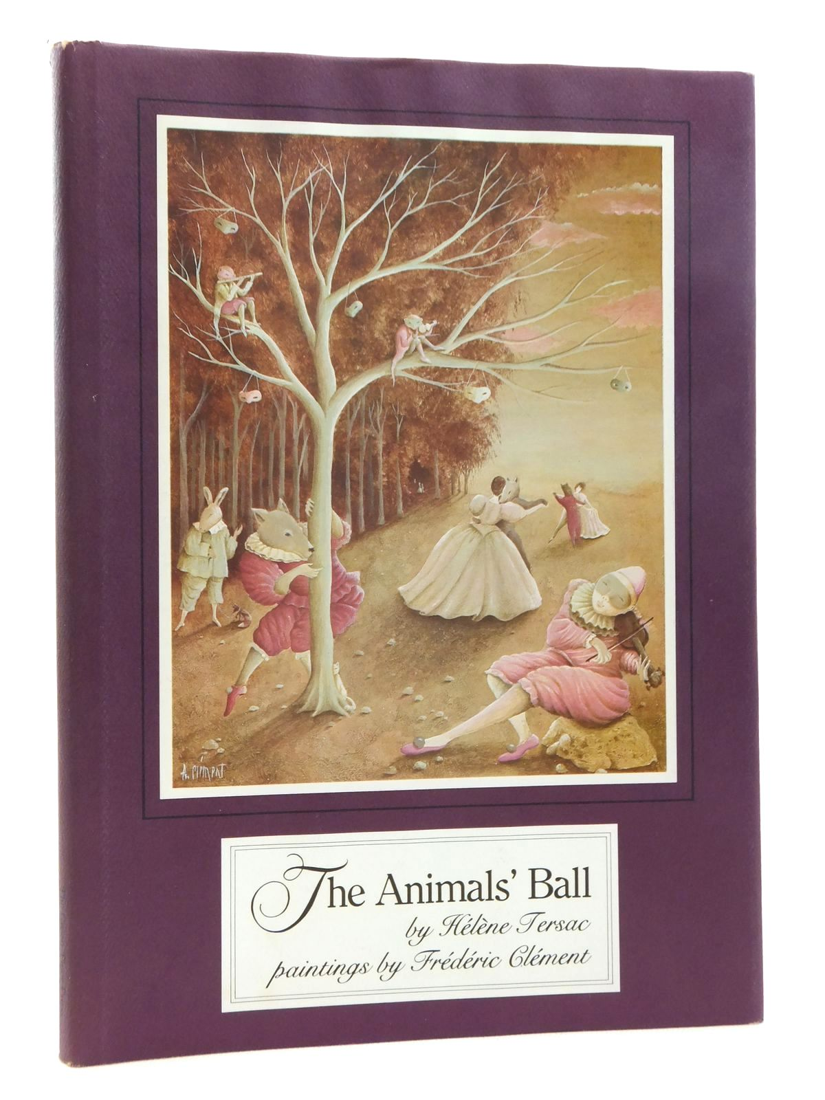Photo of THE ANIMALS' BALL written by Tersac, Helene illustrated by Clement, Frederic published by Green Tiger Press (STOCK CODE: 1317046)  for sale by Stella & Rose's Books