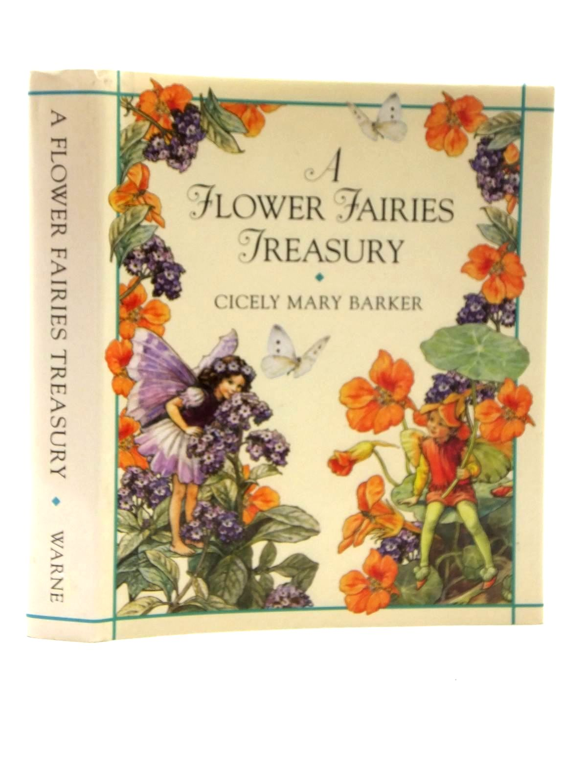 Photo of A FLOWER FAIRIES TREASURY written by Barker, Cicely Mary illustrated by Barker, Cicely Mary published by Frederick Warne (STOCK CODE: 1317056)  for sale by Stella & Rose's Books
