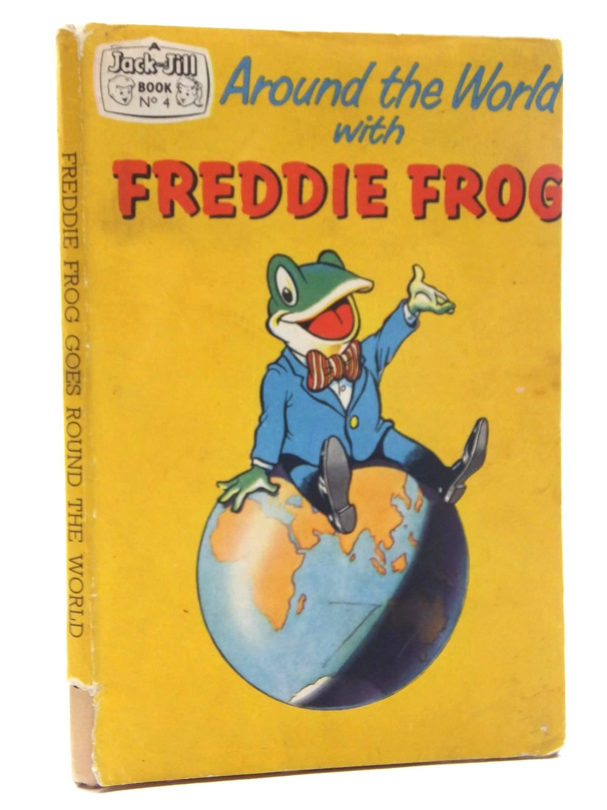 Photo of AROUND THE WORLD WITH FREDDIE FROG published by Fleetway Publications Ltd. (STOCK CODE: 1317118)  for sale by Stella & Rose's Books
