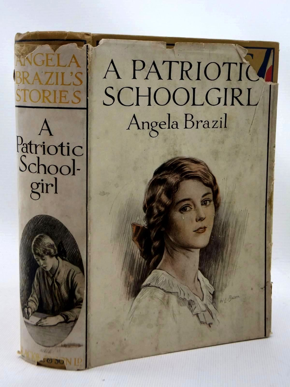 Photo of A PATRIOTIC SCHOOLGIRL written by Brazil, Angela illustrated by Salmon, Balliol published by Blackie & Son Ltd. (STOCK CODE: 1317122)  for sale by Stella & Rose's Books