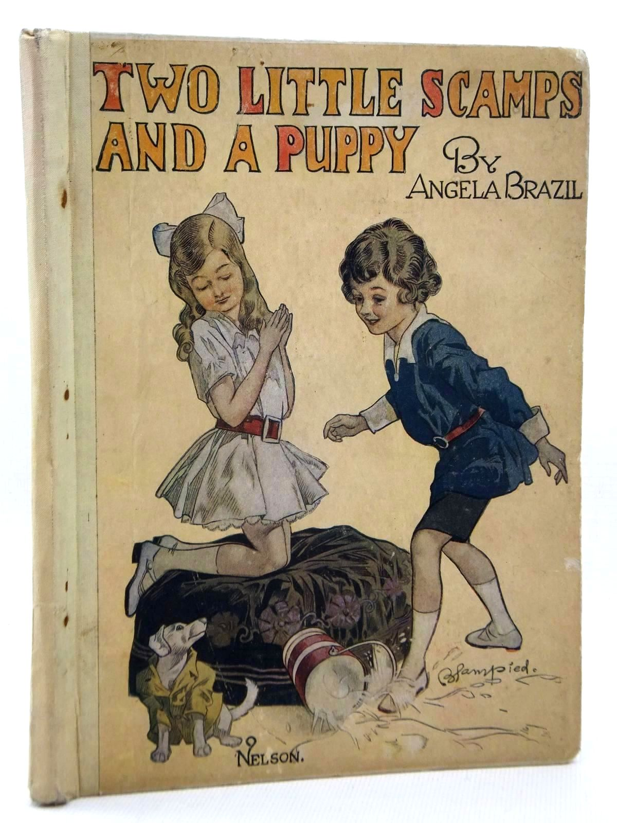 Photo of TWO LITTLE SCAMPS AND A PUPPY written by Brazil, Angela illustrated by Blampied, Edmund published by Thomas Nelson and Sons Ltd. (STOCK CODE: 1317125)  for sale by Stella & Rose's Books