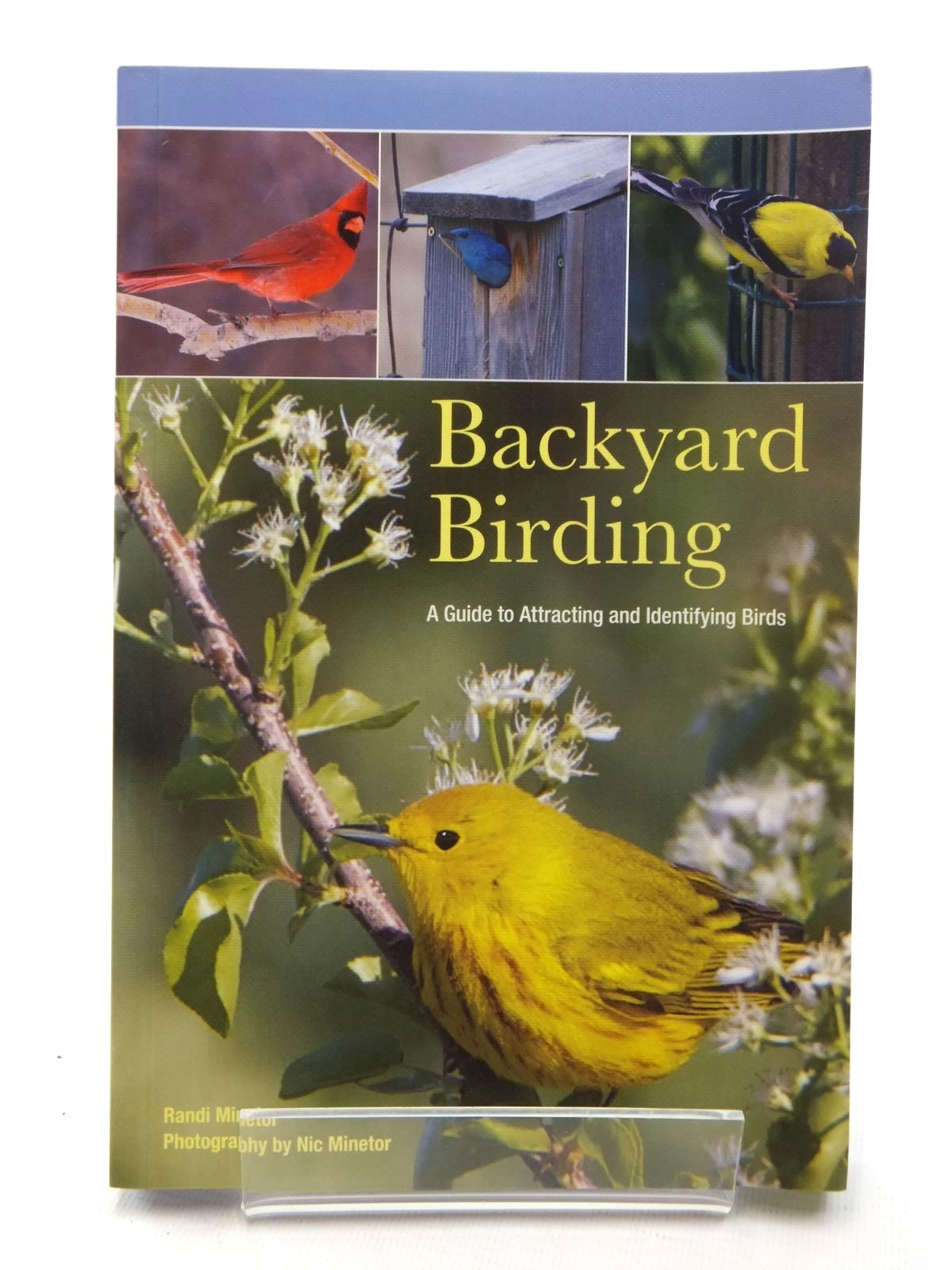 Photo of BACKYARD BIRDING written by Minetor, Randi published by Lyons Press (STOCK CODE: 1317143)  for sale by Stella & Rose's Books
