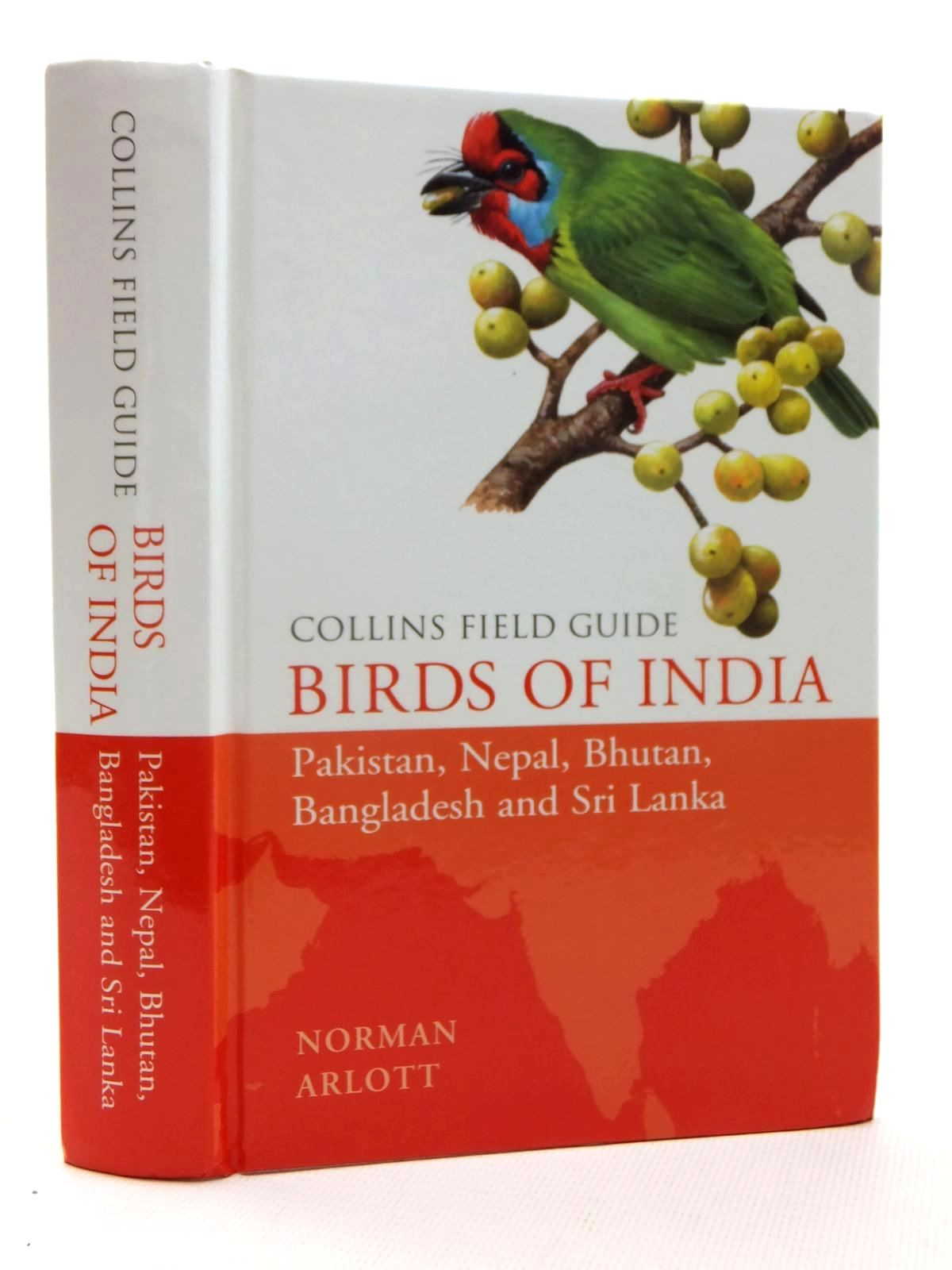 Photo of BIRDS OF INDIA (COLLINS FIELD GUIDE) written by Arlott, Norman illustrated by Arlott, Norman published by William Collins (STOCK CODE: 1317145)  for sale by Stella & Rose's Books