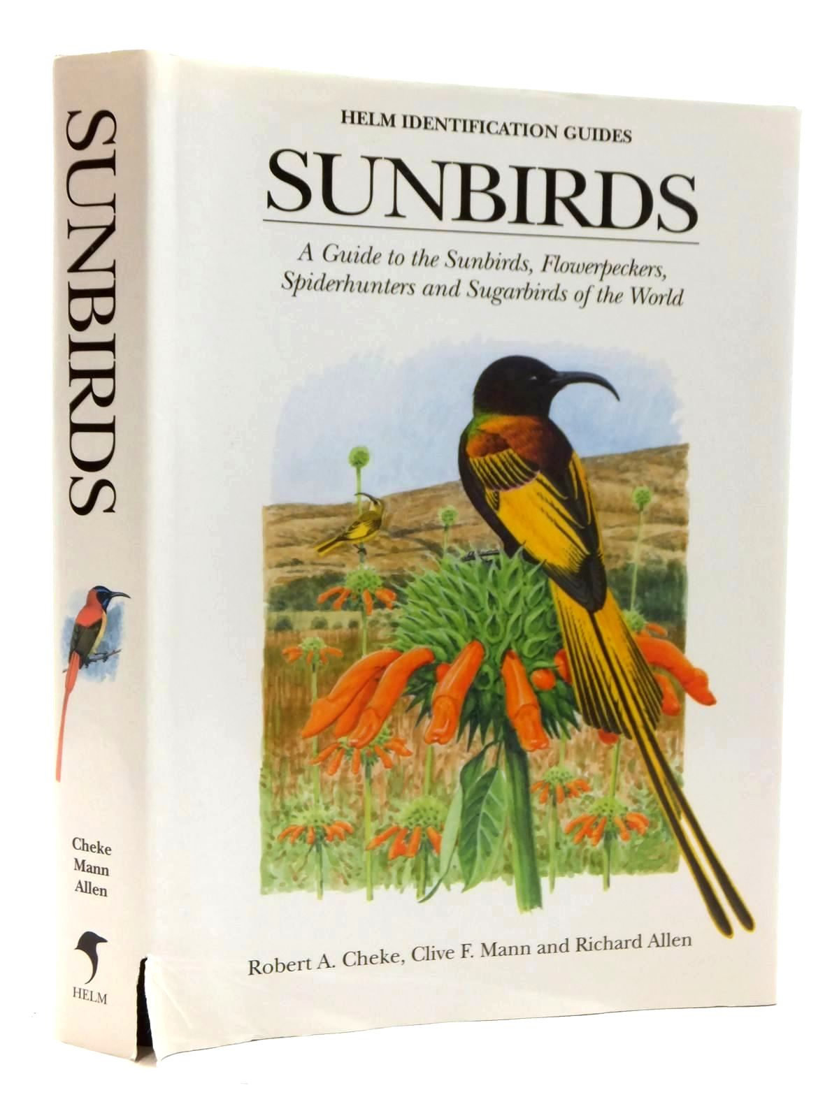 Photo of SUNBIRDS (HELM INDENTIFCATION GUIDES) written by Cheke, Robert A.<br />Mann, Clive F. illustrated by Allen, Richard published by Christopher Helm (STOCK CODE: 1317148)  for sale by Stella & Rose's Books