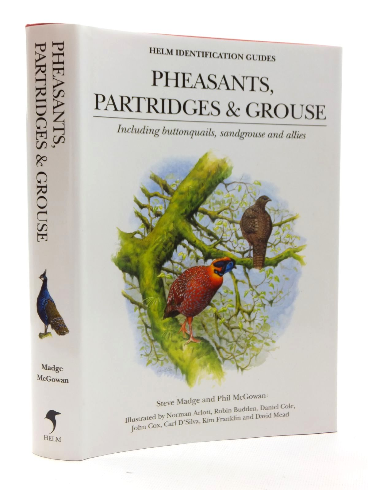 Photo of PHEASANTS, PARTRIDGES AND GROUSE (HELM IDENTIFICATION GUIDES)