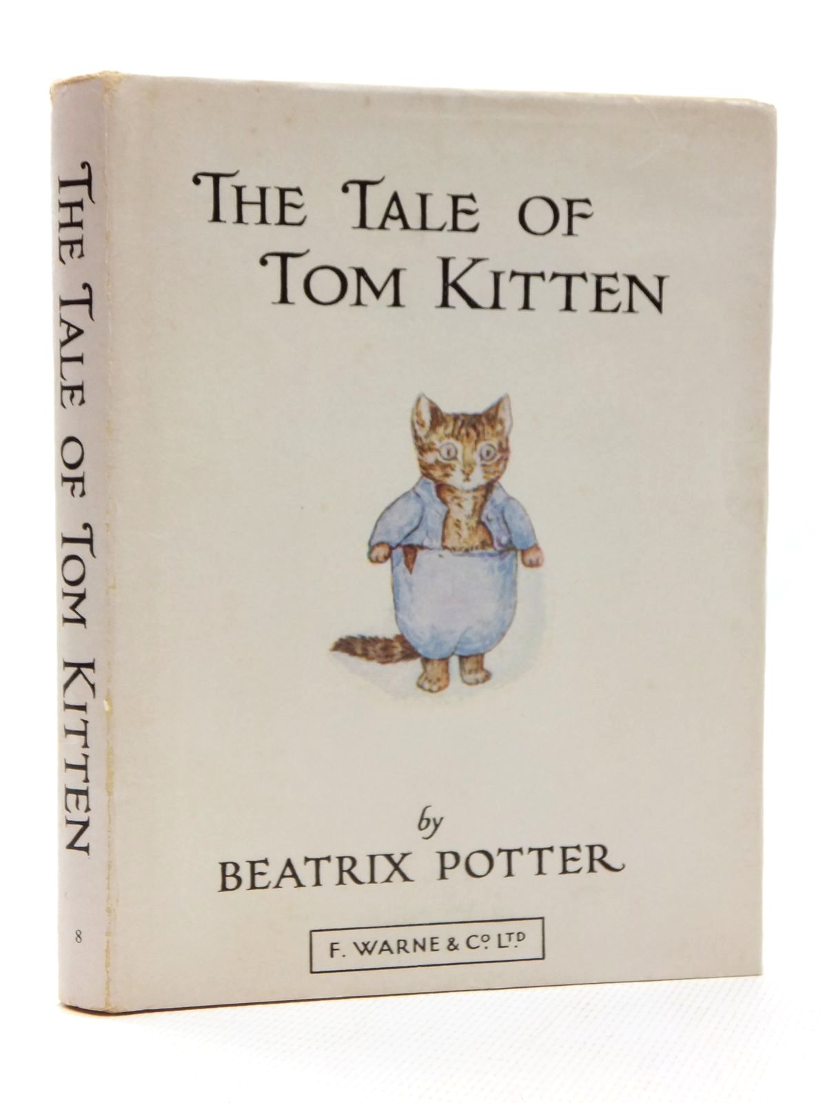 Photo of THE TALE OF TOM KITTEN written by Potter, Beatrix illustrated by Potter, Beatrix published by Frederick Warne & Co Ltd. (STOCK CODE: 1317158)  for sale by Stella & Rose's Books