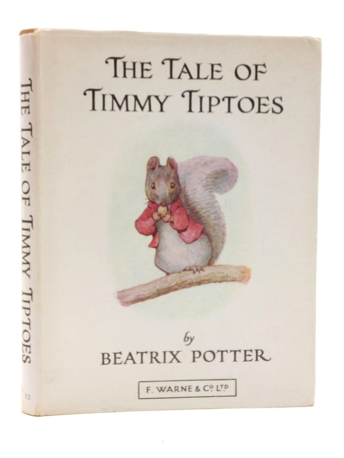 Photo of THE TALE OF TIMMY TIPTOES written by Potter, Beatrix illustrated by Potter, Beatrix published by Frederick Warne & Co Ltd. (STOCK CODE: 1317160)  for sale by Stella & Rose's Books