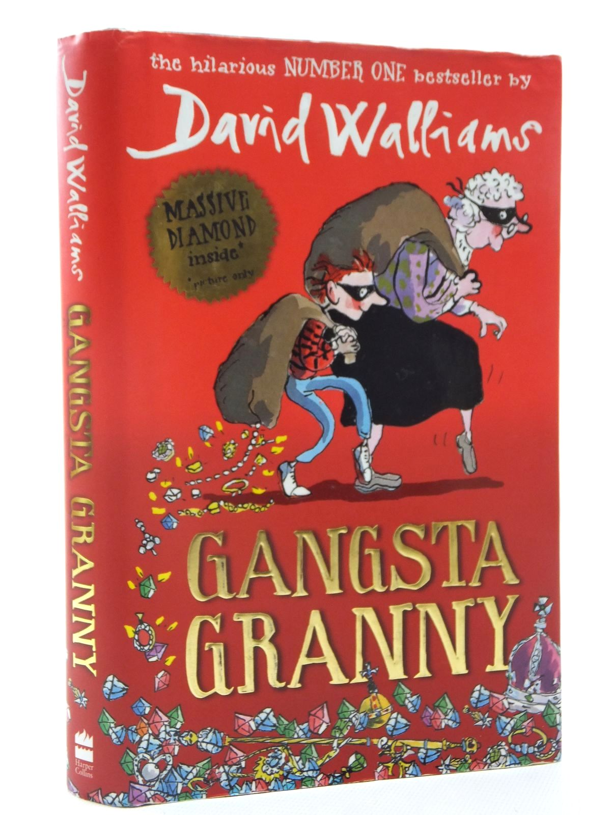 Photo of GANGSTA GRANNY written by Walliams, David illustrated by Ross, Tony published by Harper Collins Childrens Books (STOCK CODE: 1317167)  for sale by Stella & Rose's Books