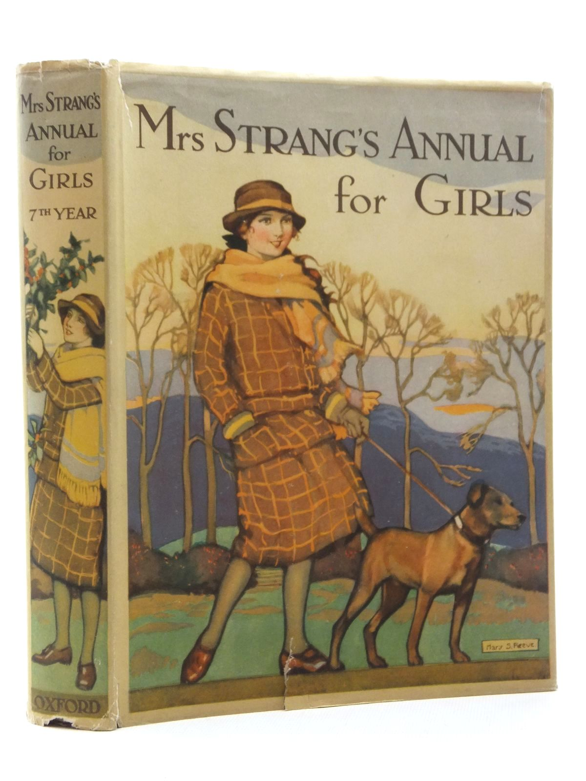 Photo of MRS STRANG'S ANNUAL FOR GIRLS written by Strang, Mrs. Herbert<br />Carruthers, M.I.K.<br />Bruce, Dorita Fairlie<br />Girvin, Brenda<br />Todd, Barbara Euphan<br />et al, illustrated by Harrison, Florence<br />Johnston, M.D.<br />Brock, C.E.<br />et al., published by Oxford University Press, Humphrey Milford (STOCK CODE: 1317176)  for sale by Stella & Rose's Books