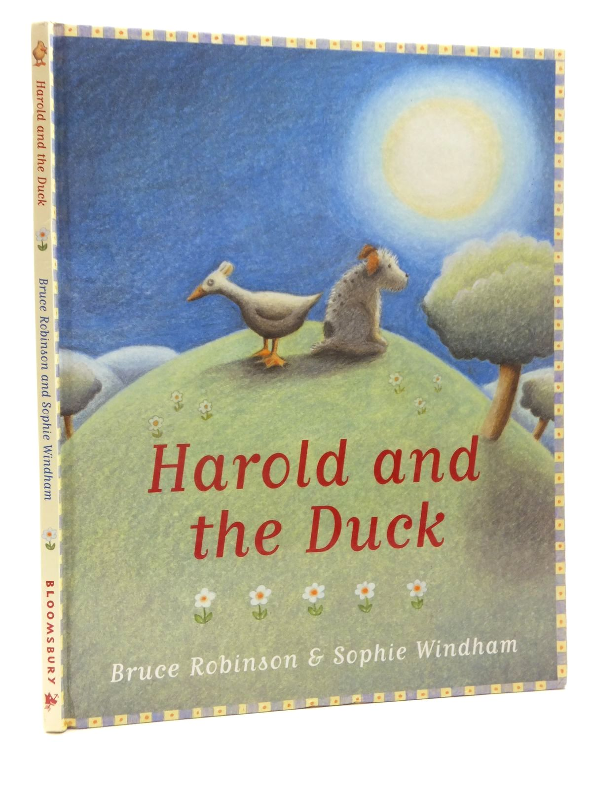 Photo of HAROLD AND THE DUCK written by Robinson, Bruce illustrated by Windham, Sophie published by Bloomsbury Children's Books (STOCK CODE: 1317178)  for sale by Stella & Rose's Books