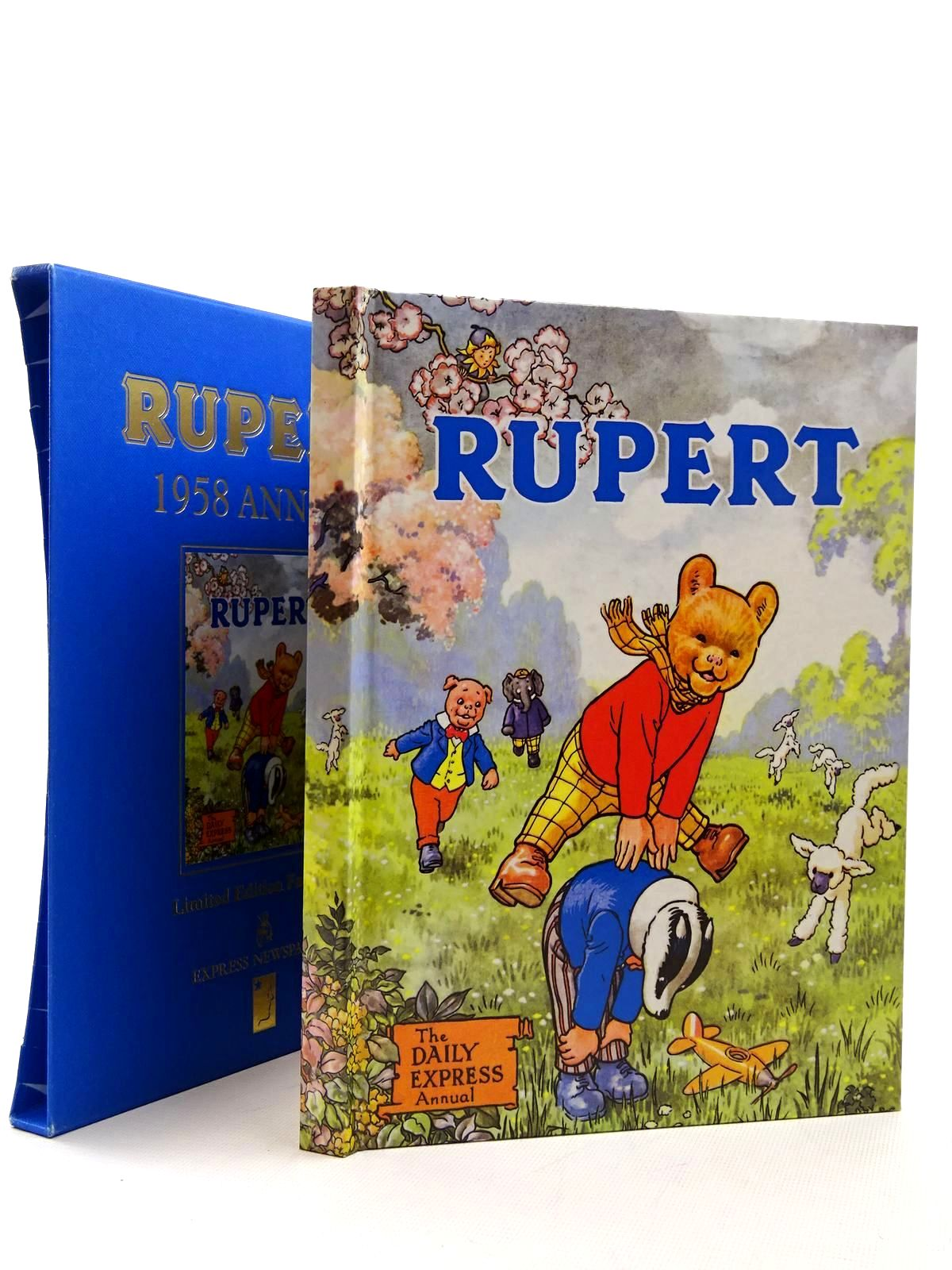 Photo of RUPERT ANNUAL 1958 (FACSIMILE) written by Bestall, Alfred illustrated by Bestall, Alfred published by Express Newspapers Ltd. (STOCK CODE: 1317205)  for sale by Stella & Rose's Books