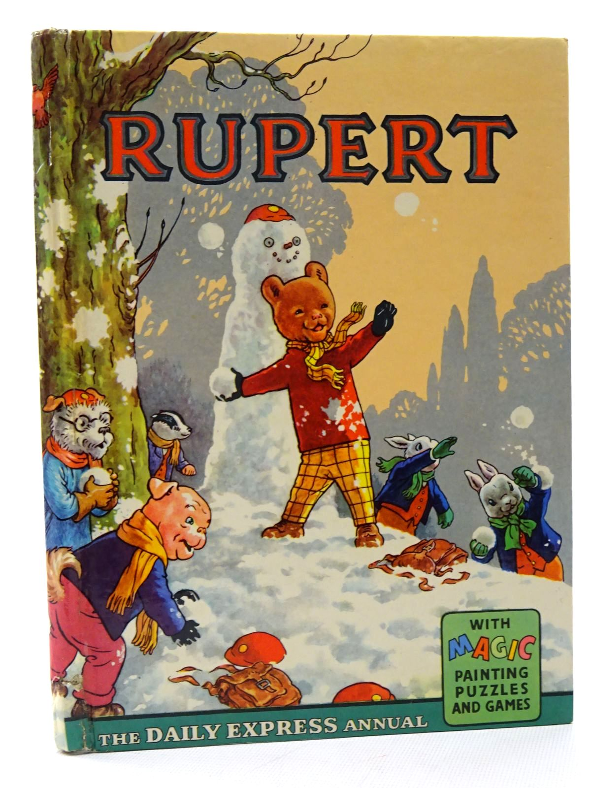 Photo of RUPERT ANNUAL 1962 written by Bestall, Alfred illustrated by Bestall, Alfred published by Daily Express (STOCK CODE: 1317207)  for sale by Stella & Rose's Books