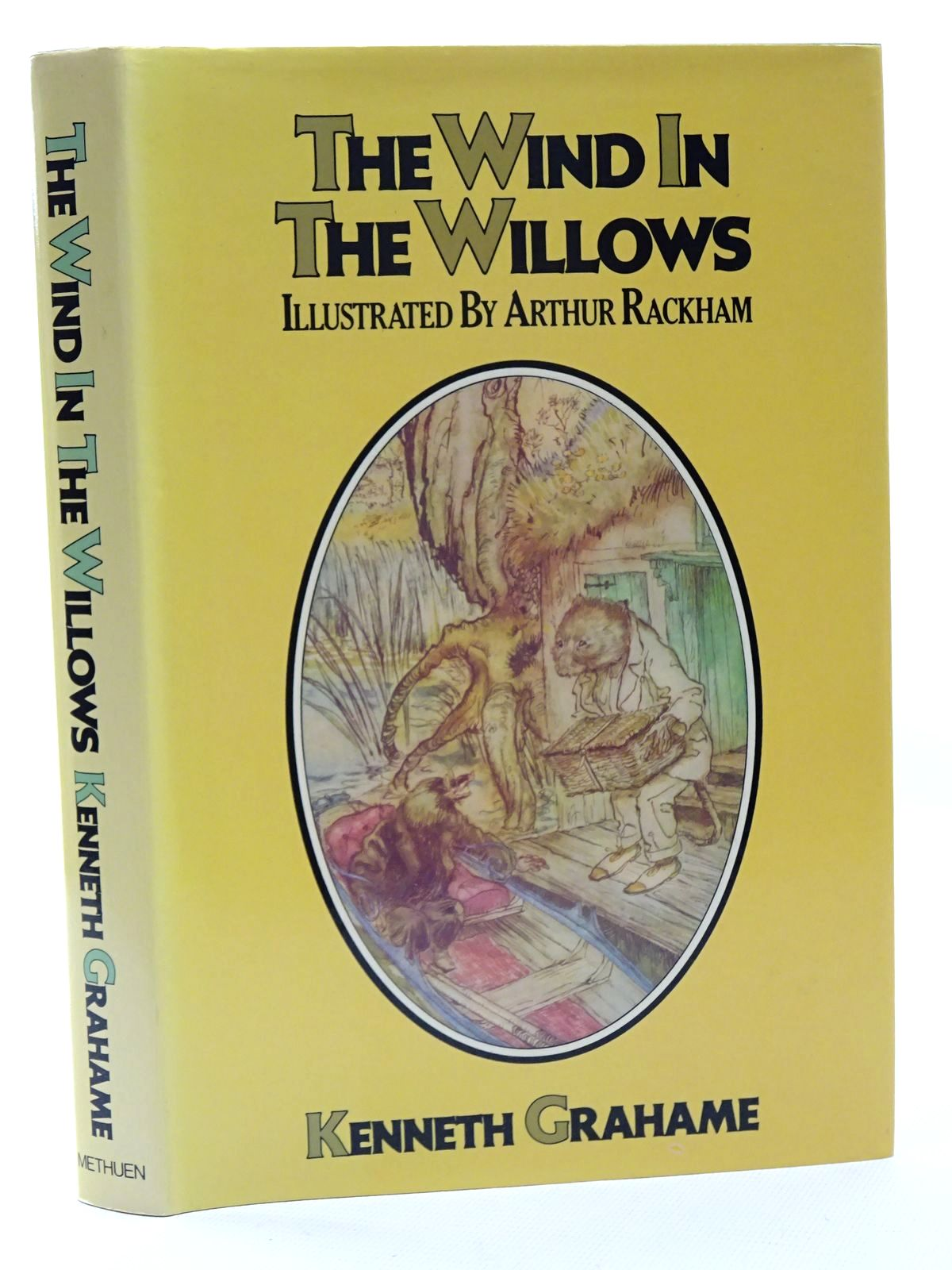Photo of THE WIND IN THE WILLOWS written by Grahame, Kenneth illustrated by Rackham, Arthur published by Methuen Children's Books (STOCK CODE: 1317224)  for sale by Stella & Rose's Books
