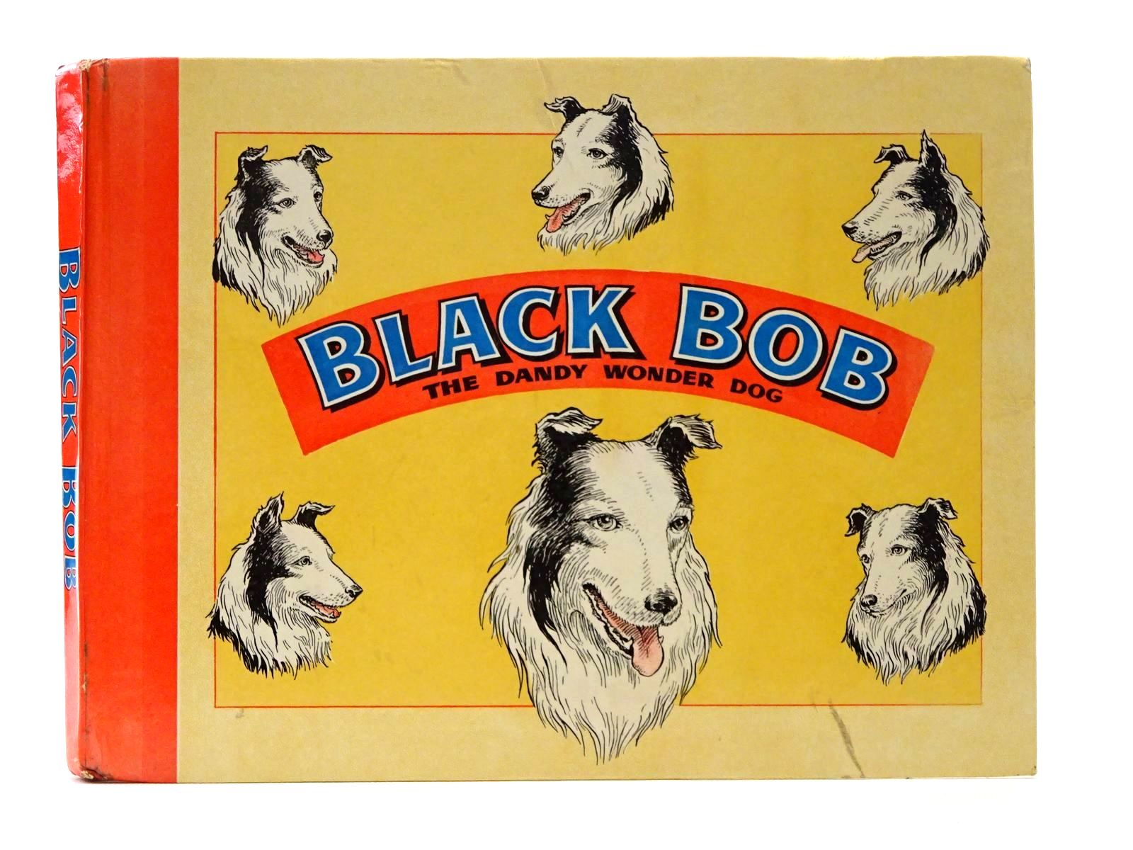 Photo of BLACK BOB THE DANDY WONDER DOG 1961 illustrated by Prout, Jack published by D.C. Thomson & Co Ltd. (STOCK CODE: 1317247)  for sale by Stella & Rose's Books