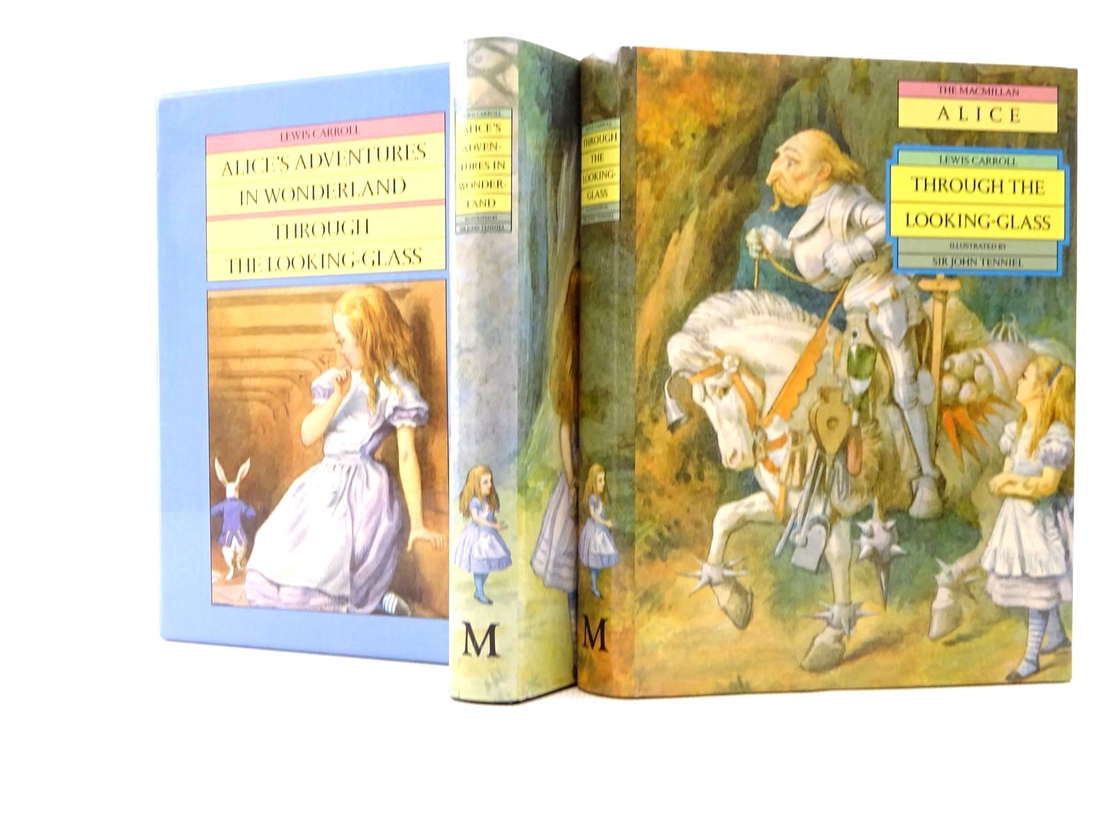 Photo of ALICE'S ADVENTURES IN WONDERLAND AND THROUGH THE LOOKING-GLASS written by Carroll, Lewis illustrated by Tenniel, John published by Macmillan Children's Books (STOCK CODE: 1317251)  for sale by Stella & Rose's Books