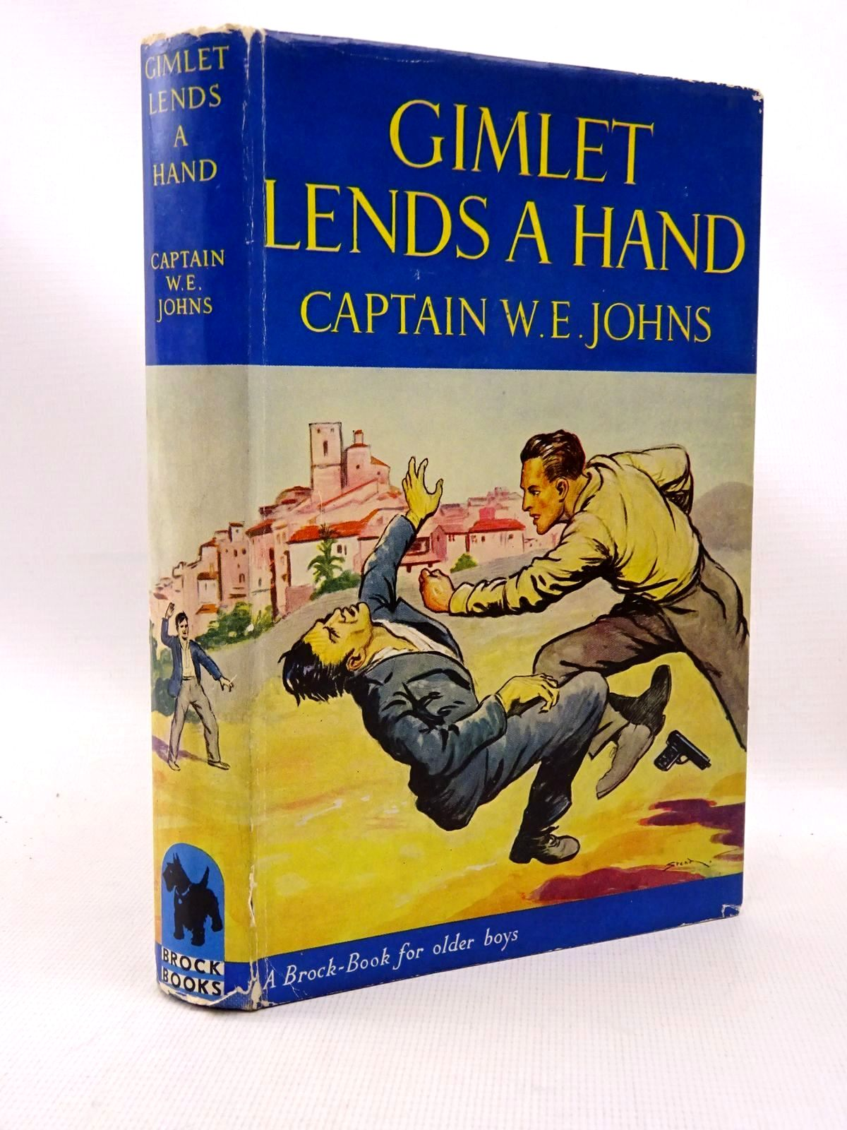 Photo of GIMLET LENDS A HAND written by Johns, W.E. illustrated by Stead, Leslie published by Brockhampton Press (STOCK CODE: 1317252)  for sale by Stella & Rose's Books