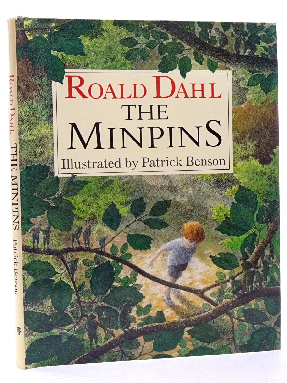 Photo of THE MINPINS written by Dahl, Roald illustrated by Benson, Patrick published by Jonathan Cape (STOCK CODE: 1317276)  for sale by Stella & Rose's Books