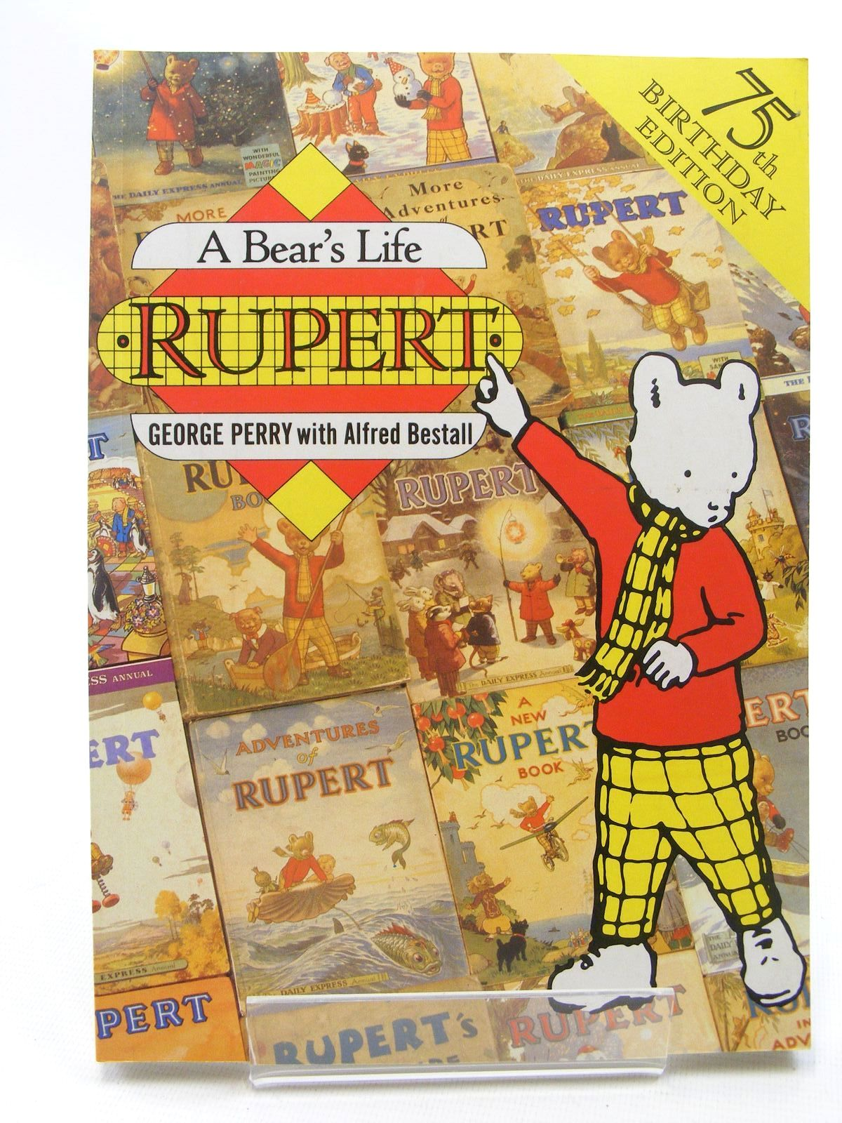Photo of RUPERT: A BEAR'S LIFE written by Perry, George illustrated by Bestall, Alfred published by Pavilion Books Ltd. (STOCK CODE: 1317281)  for sale by Stella & Rose's Books
