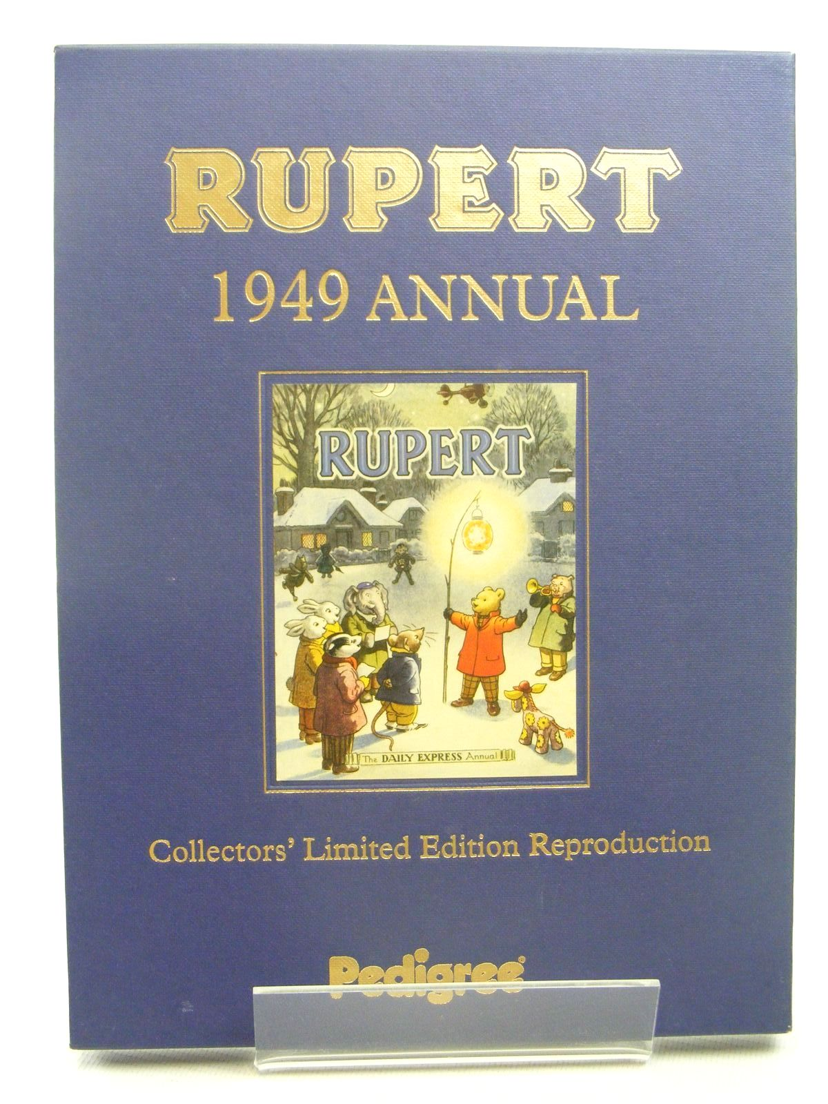 Photo of RUPERT ANNUAL 1949 (FACSIMILE) written by Bestall, Alfred illustrated by Bestall, Alfred published by Pedigree Books Limited (STOCK CODE: 1317286)  for sale by Stella & Rose's Books