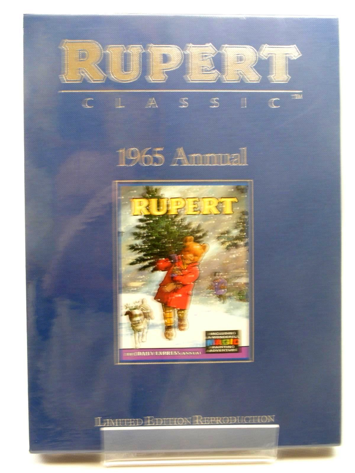 Photo of RUPERT ANNUAL 1965 (FACSIMILE) written by Bestall, Alfred illustrated by Bestall, Alfred published by Egmont Children's Books Ltd. (STOCK CODE: 1317297)  for sale by Stella & Rose's Books