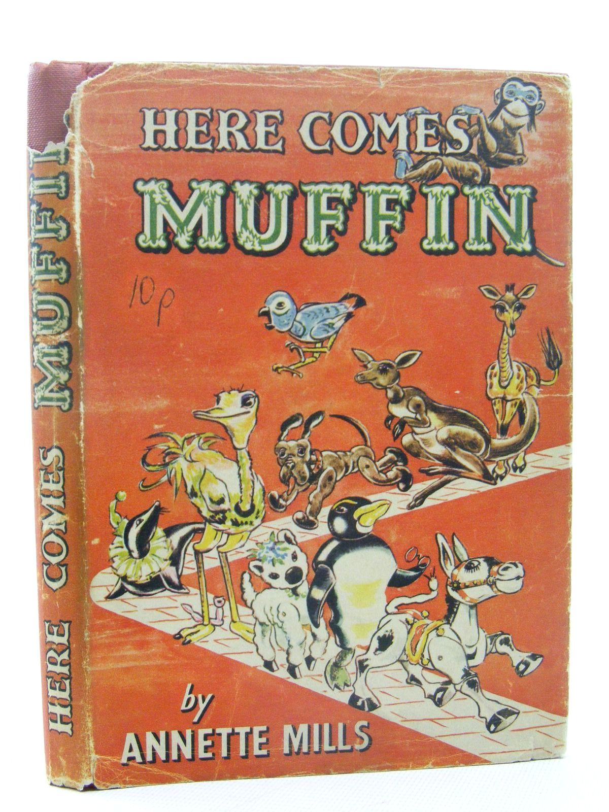 Photo of HERE COMES MUFFIN written by Mills, Annette illustrated by Blake, Molly published by University of London Press (STOCK CODE: 1317310)  for sale by Stella & Rose's Books