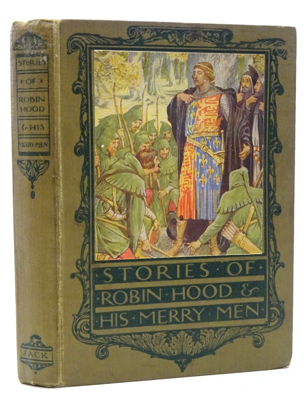 Photo of STORIES OF ROBIN HOOD AND HIS MERRY MEN written by Gilbert, Henry illustrated by Crane, Walter published by T.C. & E.C. Jack (STOCK CODE: 1317316)  for sale by Stella & Rose's Books