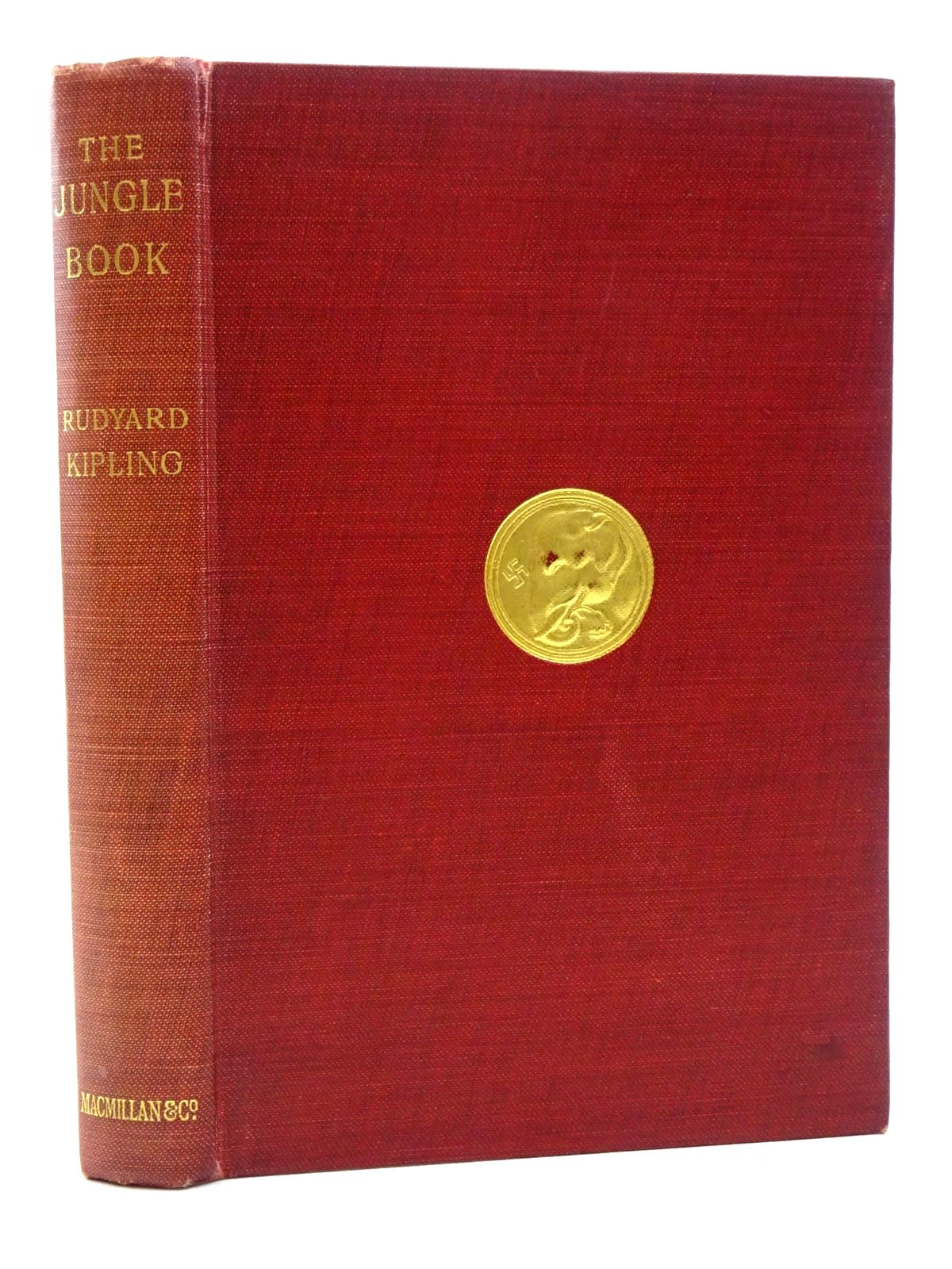 Photo of THE JUNGLE BOOK written by Kipling, Rudyard illustrated by Kipling, J. Lockwood<br />Drake, W.H.<br />Frenzeny, P. published by Macmillan & Co. Ltd. (STOCK CODE: 1317335)  for sale by Stella & Rose's Books