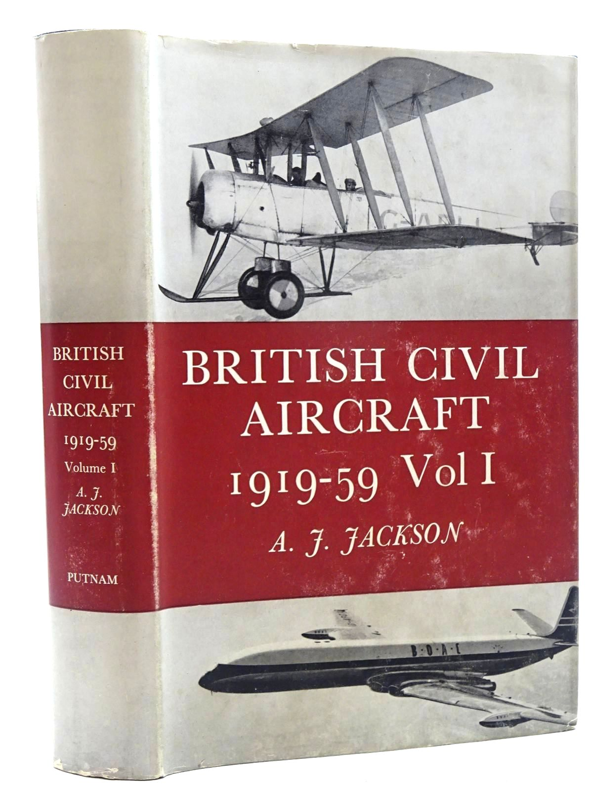 Photo of BRITISH CIVIL AIRCRAFT SINCE 1919-59 VOLUME ONE written by Jackson, A.J. published by Putnam (STOCK CODE: 1317355)  for sale by Stella & Rose's Books