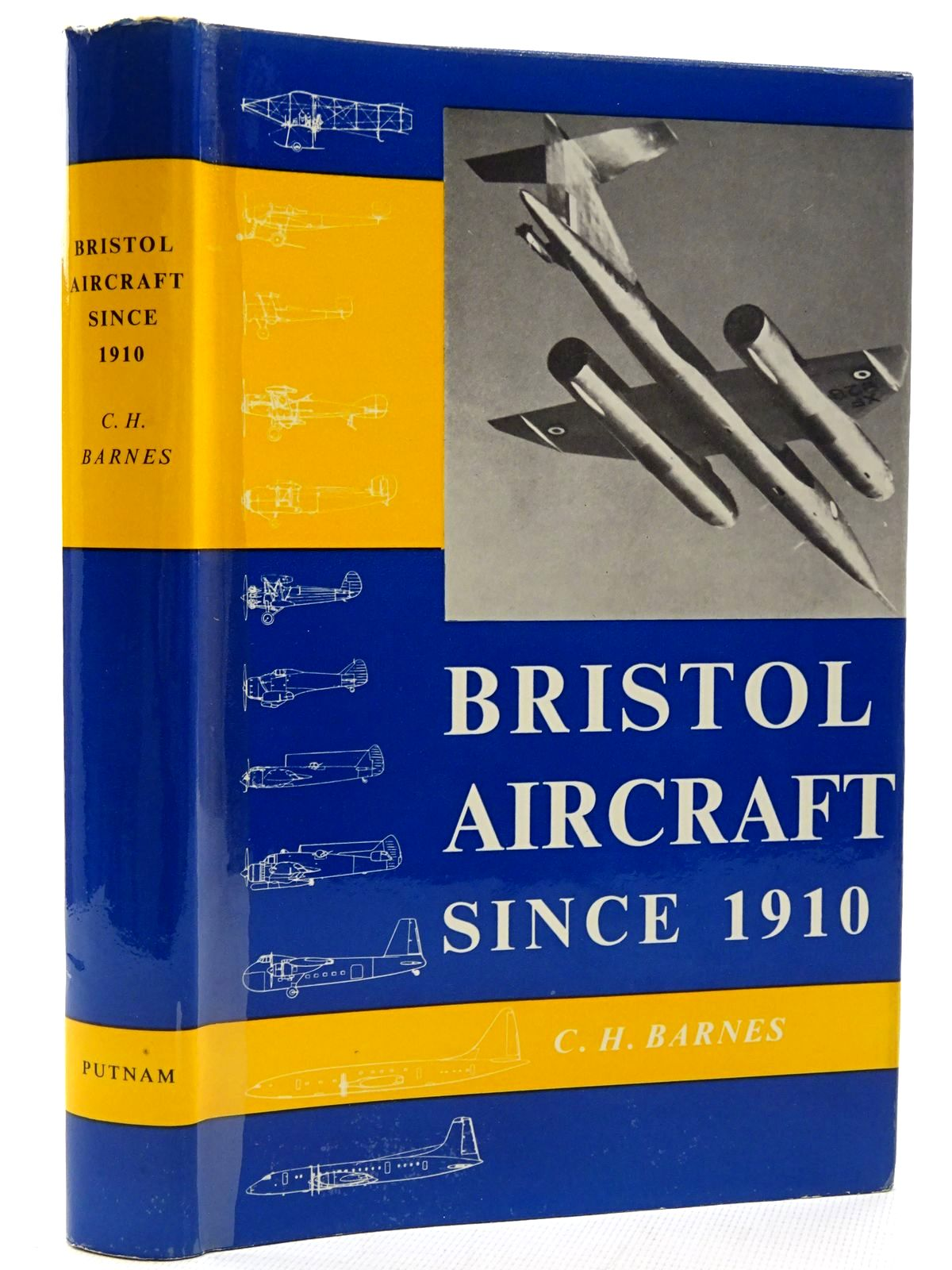 Photo of BRISTOL AIRCRAFT SINCE 1910 written by Barnes, C.H. published by Putnam (STOCK CODE: 1317356)  for sale by Stella & Rose's Books