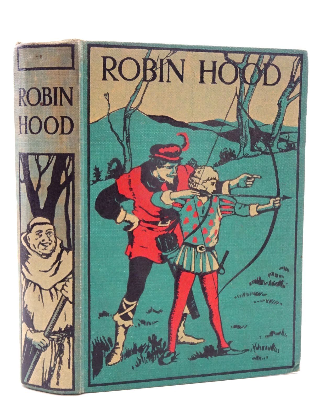 Photo of ROBIN HOOD AND HIS MERRY OUTLAWS written by McSpadden, J. Walker<br />Wilson, Charles illustrated by Wyeth, N.C. published by Associated Newspapers Ltd. (STOCK CODE: 1317359)  for sale by Stella & Rose's Books