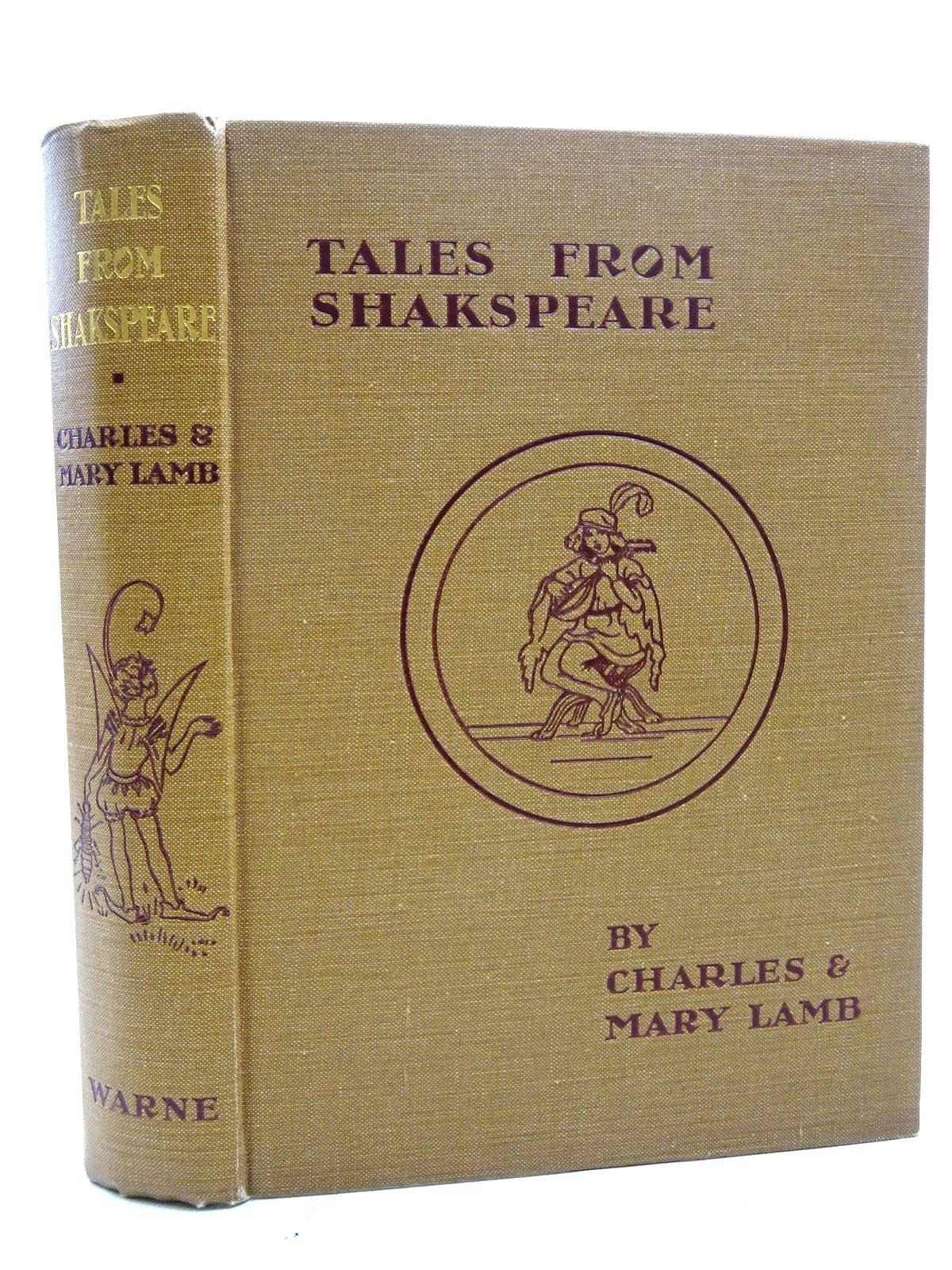 Photo of TALES FROM SHAKESPEARE written by Lamb, Charles<br />Lamb, Mary<br />Shakespeare, William illustrated by Pape, Frank C. published by Frederick Warne & Co Ltd. (STOCK CODE: 1317373)  for sale by Stella & Rose's Books