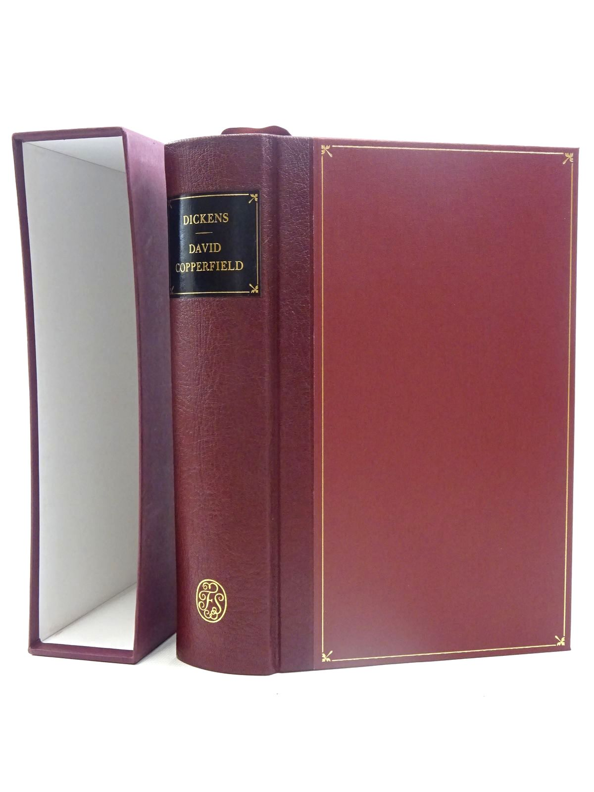Photo of DAVID COPPERFIELD written by Dickens, Charles illustrated by Phiz,  published by Folio Society (STOCK CODE: 1317388)  for sale by Stella & Rose's Books