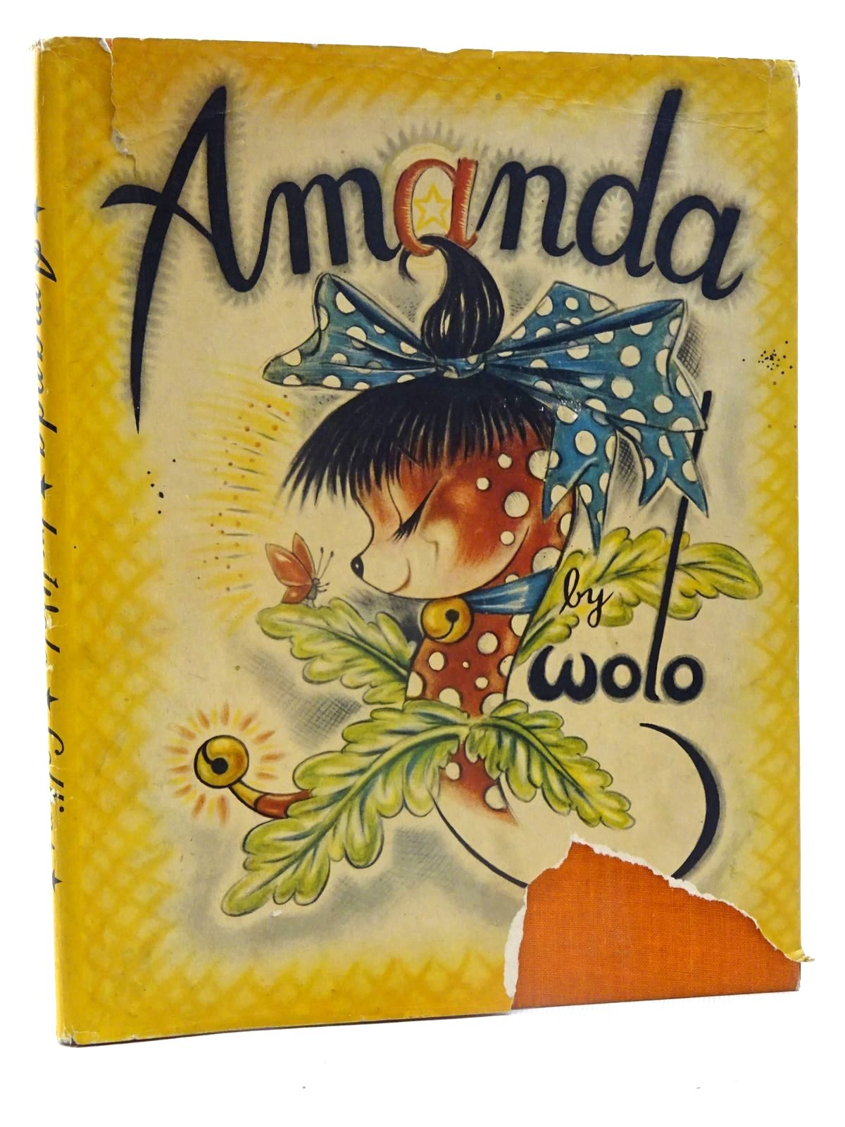 Photo of AMANDA written by Wolo, illustrated by Wolo, published by Collins (STOCK CODE: 1317404)  for sale by Stella & Rose's Books
