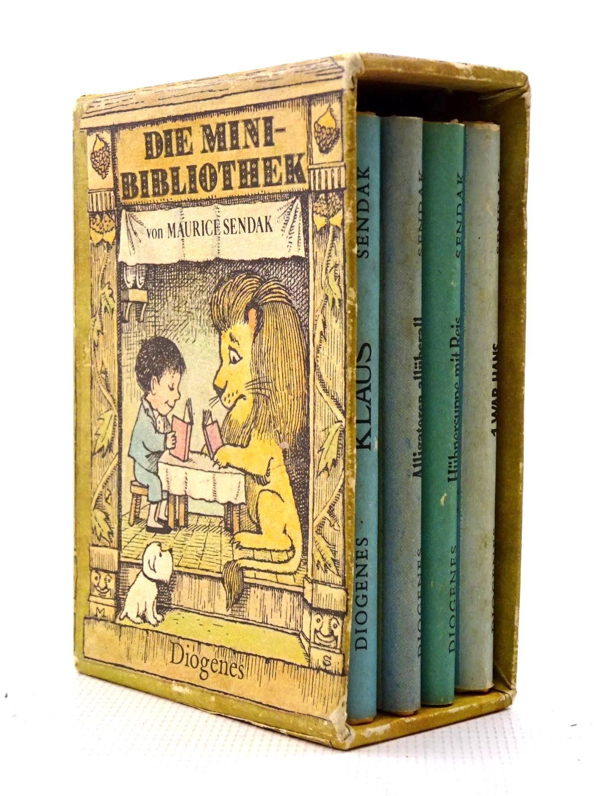 Photo of DIE MINI-BIBLIOTHEK written by Sendak, Maurice illustrated by Sendak, Maurice published by Diogenes (STOCK CODE: 1317424)  for sale by Stella & Rose's Books