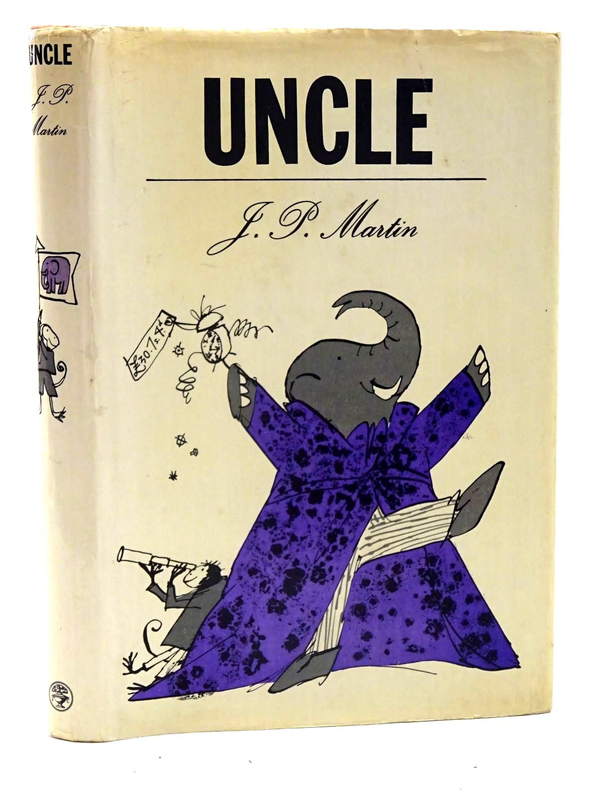 Photo of UNCLE written by Martin, J.P. illustrated by Blake, Quentin published by Jonathan Cape (STOCK CODE: 1317429)  for sale by Stella & Rose's Books